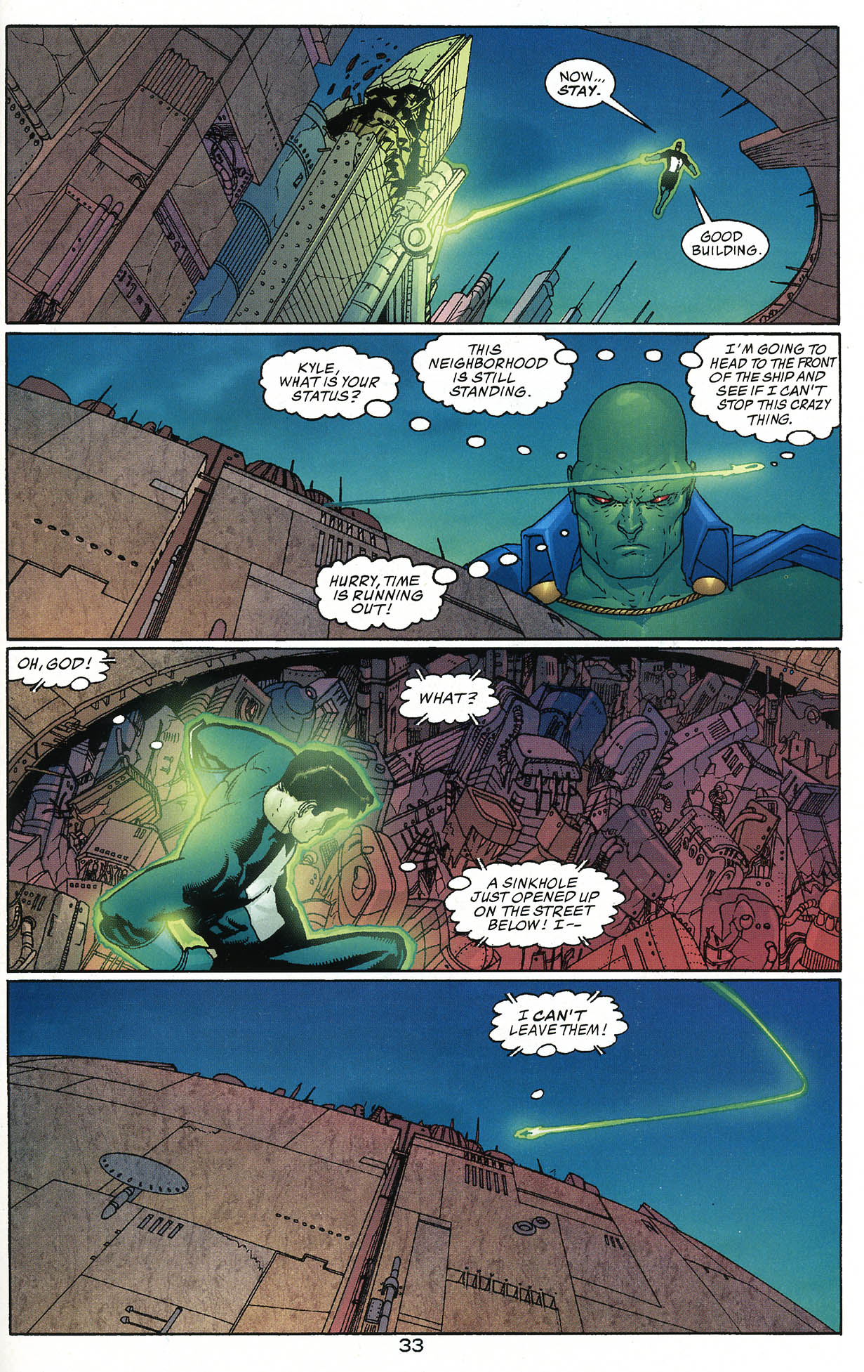 Read online JLA/Haven: Arrival comic -  Issue # Full - 32
