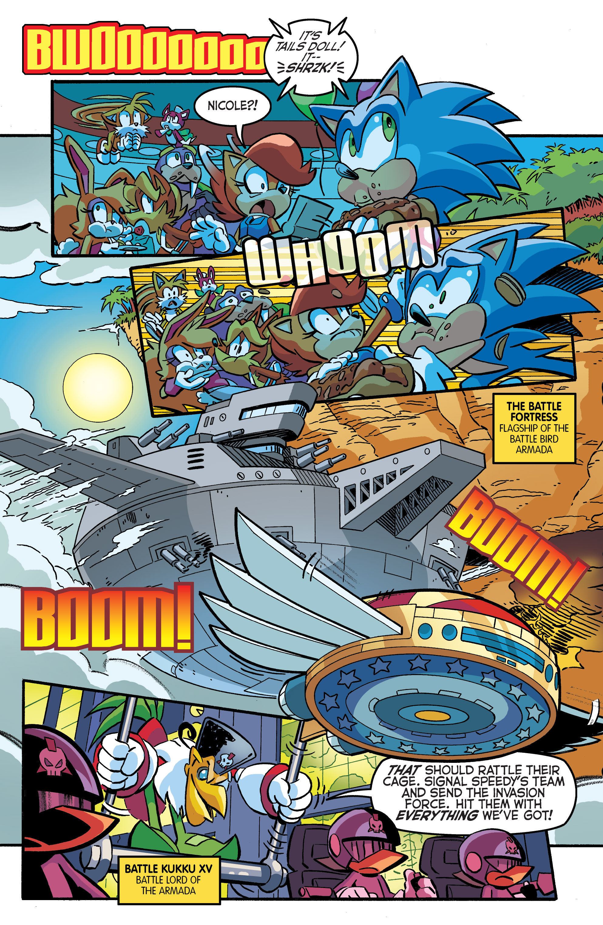 Read online Sonic The Hedgehog comic -  Issue #284 - 6