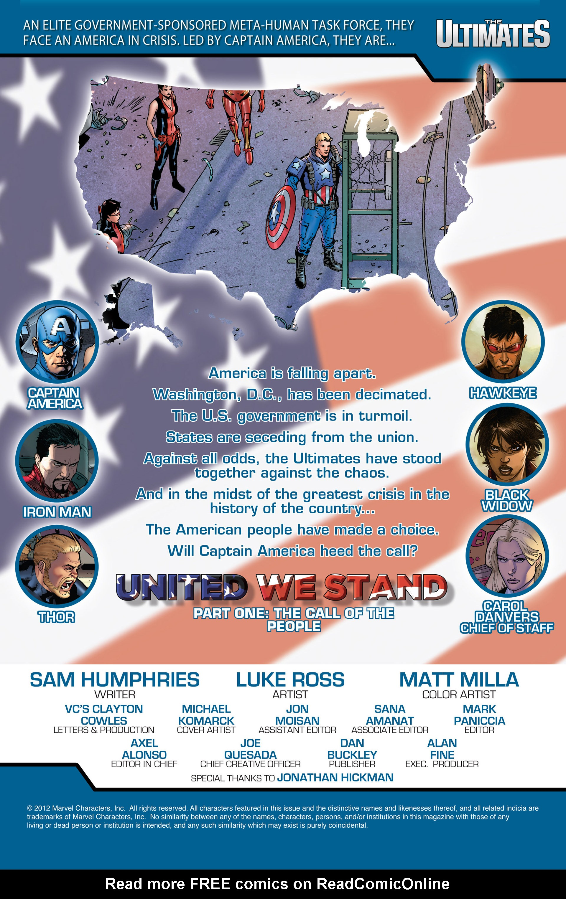 Read online Ultimate Comics Ultimates comic -  Issue #16 - 2