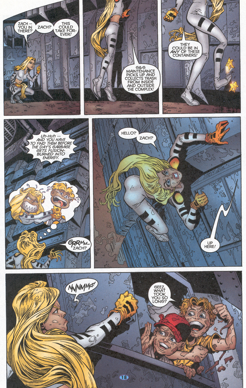 Read online Troublemakers comic -  Issue #10 - 15