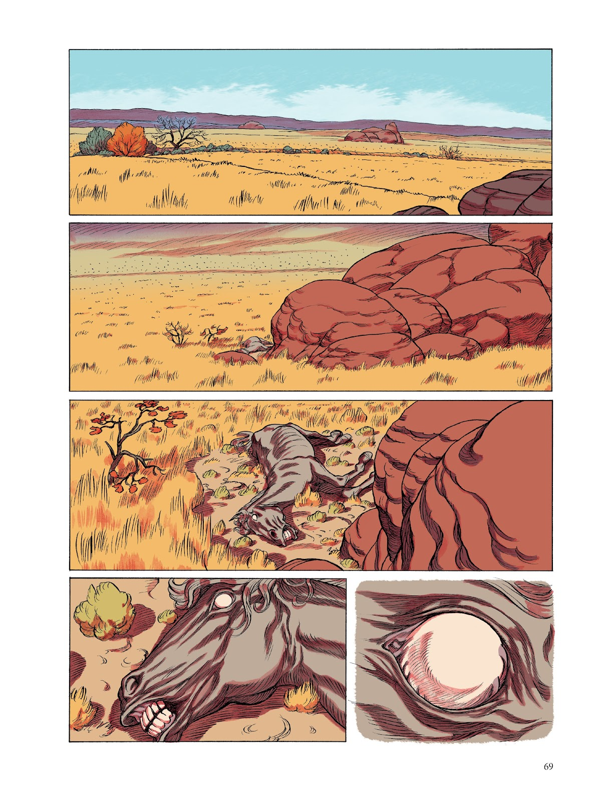 Read online The Smell of Starving Boys comic -  Issue # TPB - 70