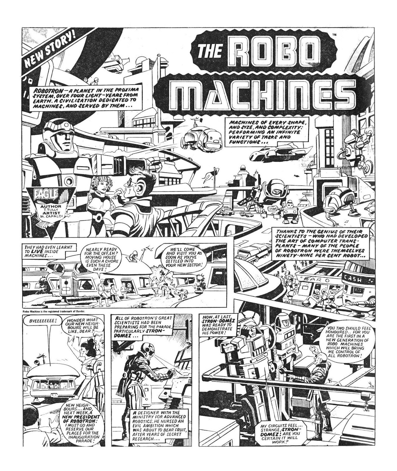 Read online Robo Machines comic -  Issue # TPB - 9