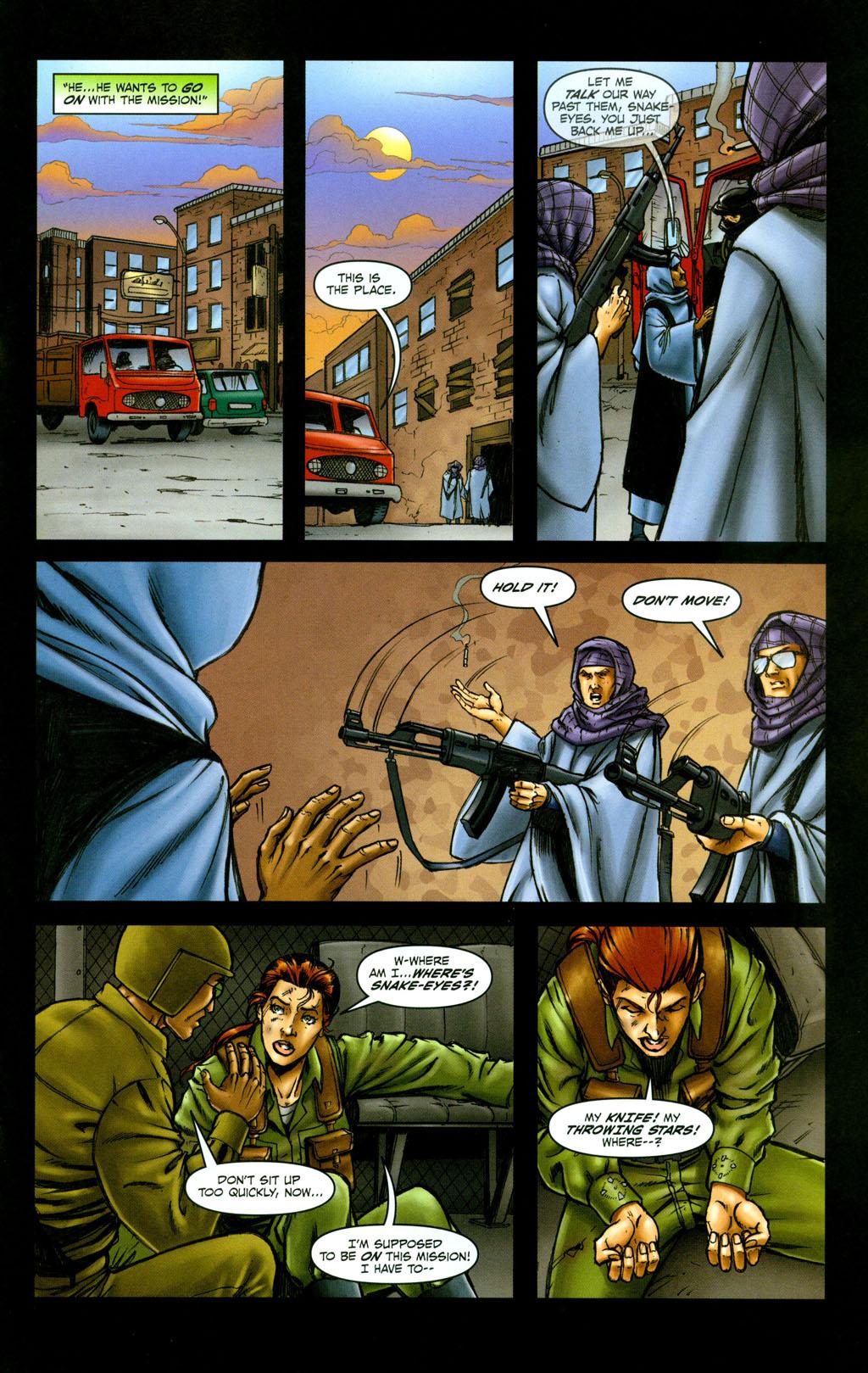 Read online Snake Eyes: Declassified comic -  Issue #6 - 16