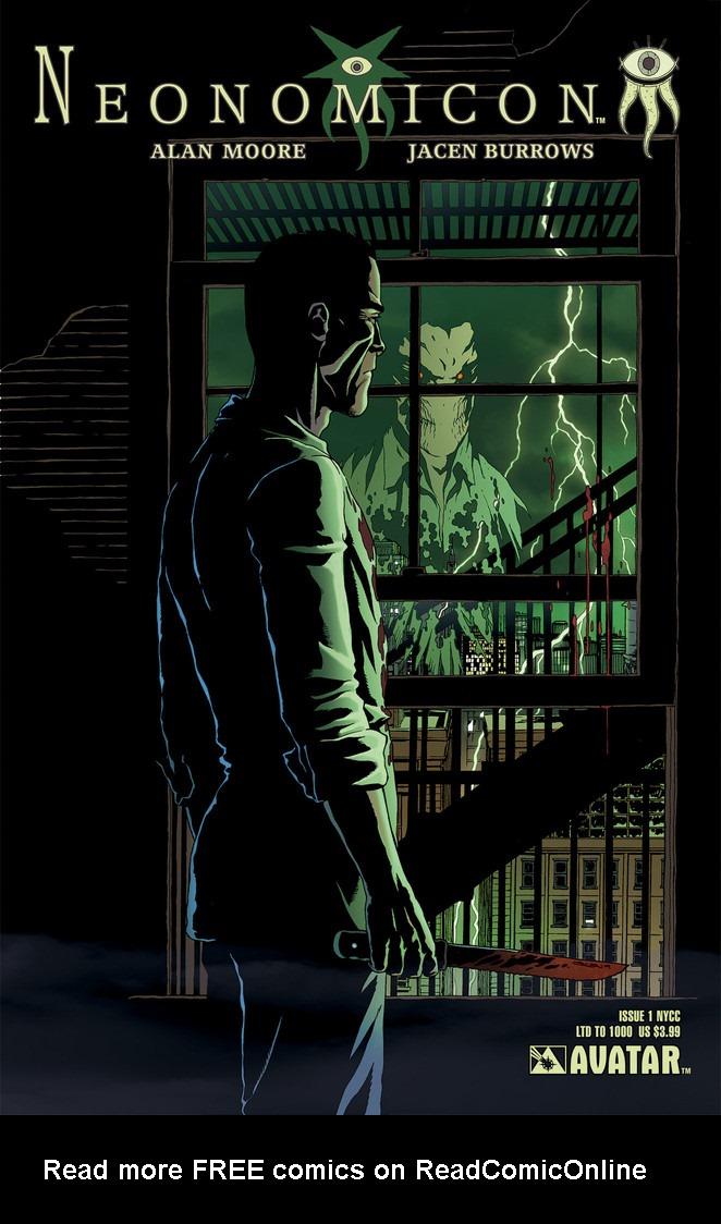 Read online Alan Moore's Neonomicon comic -  Issue #1 - 6