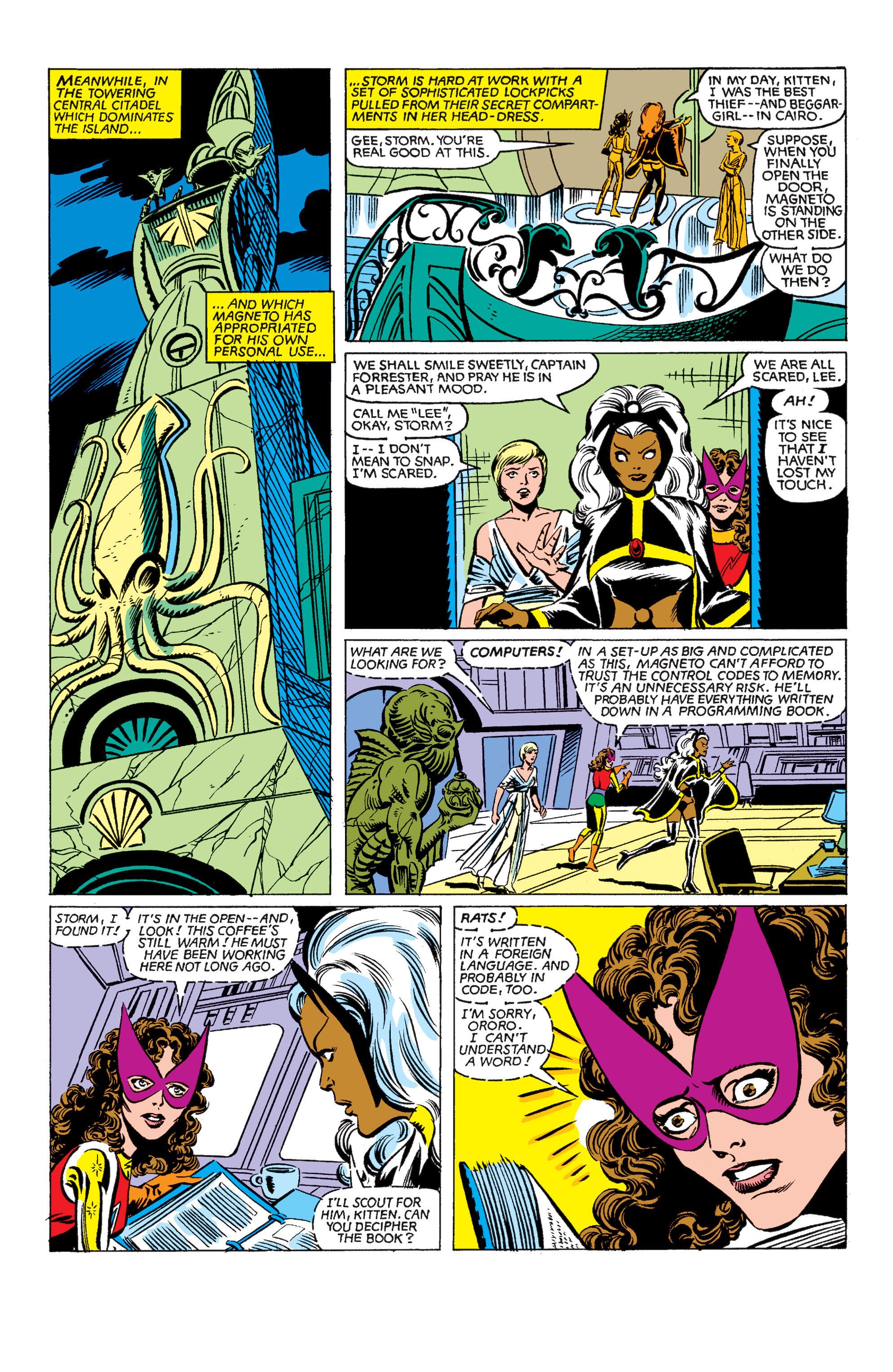 Read online Uncanny X-Men (1963) comic -  Issue #150 - 19