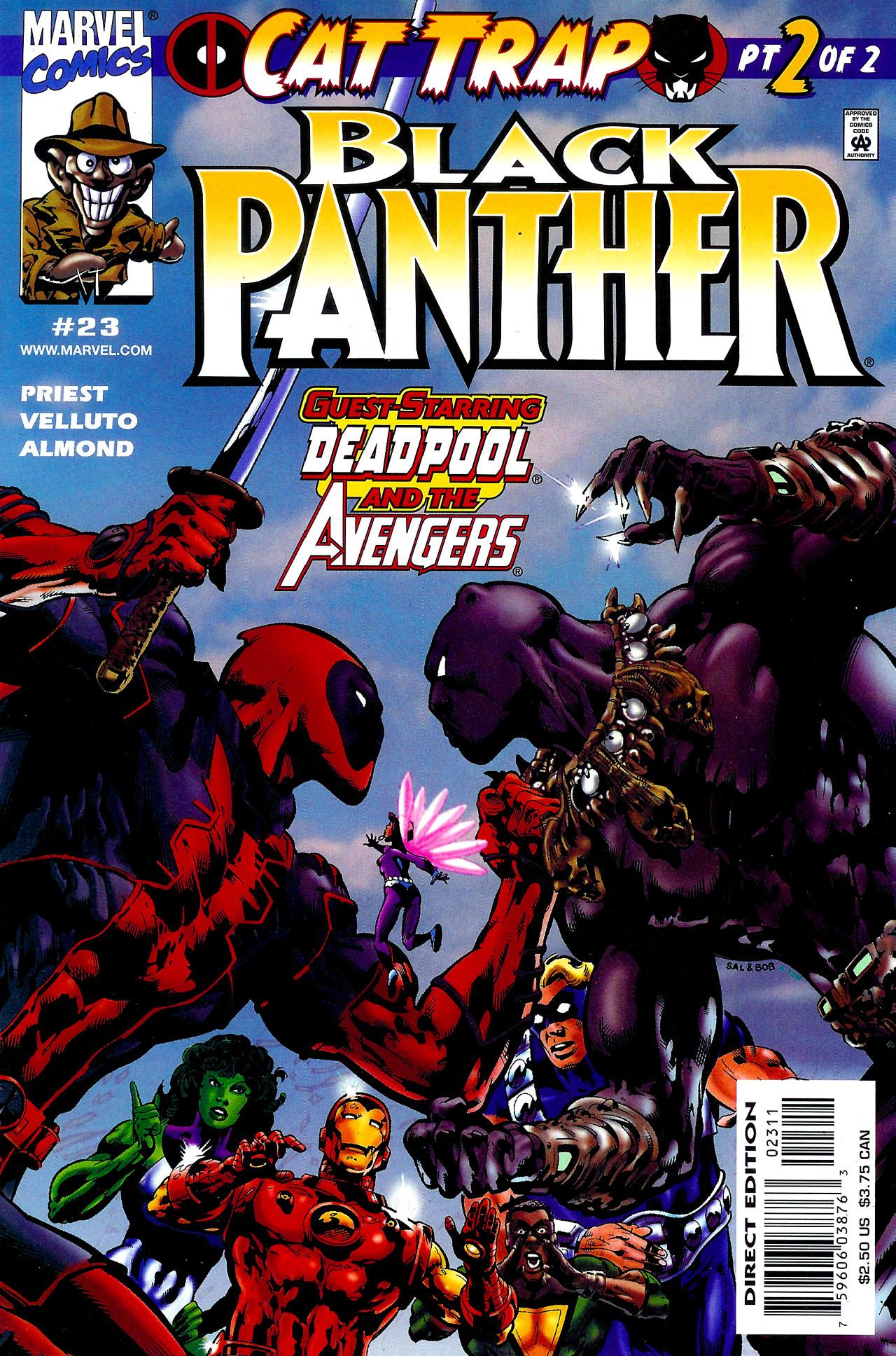 Black Panther (1998) 23 Page 1