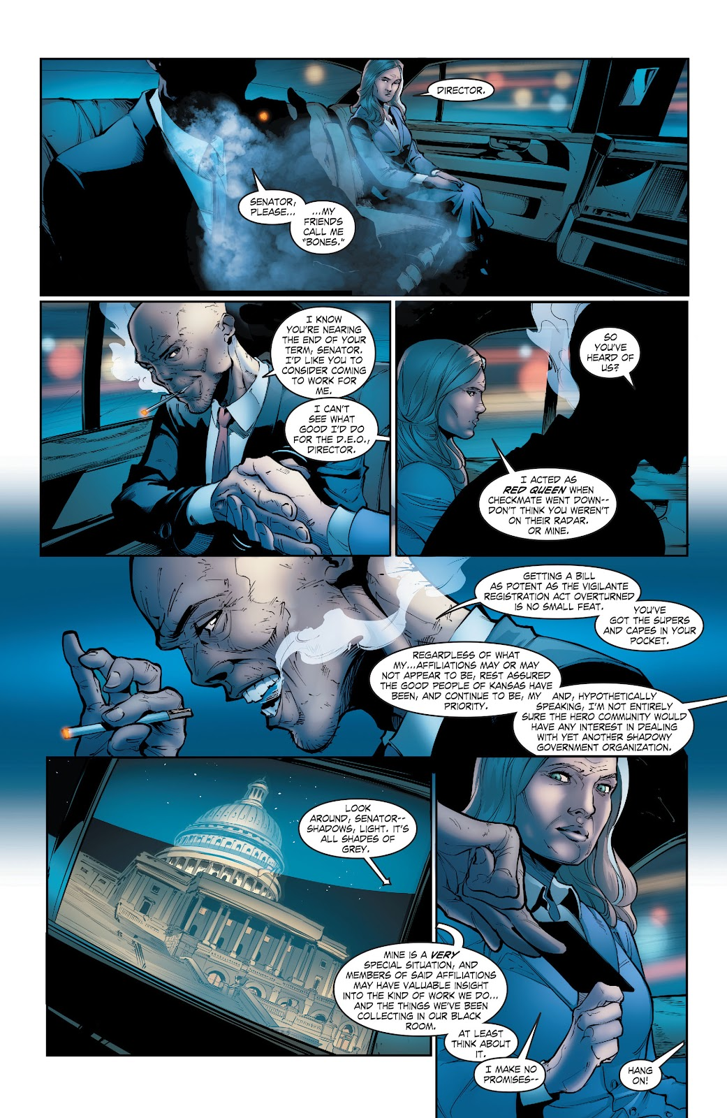 Read online Smallville Season 11 [II] comic -  Issue # TPB 5 - 11