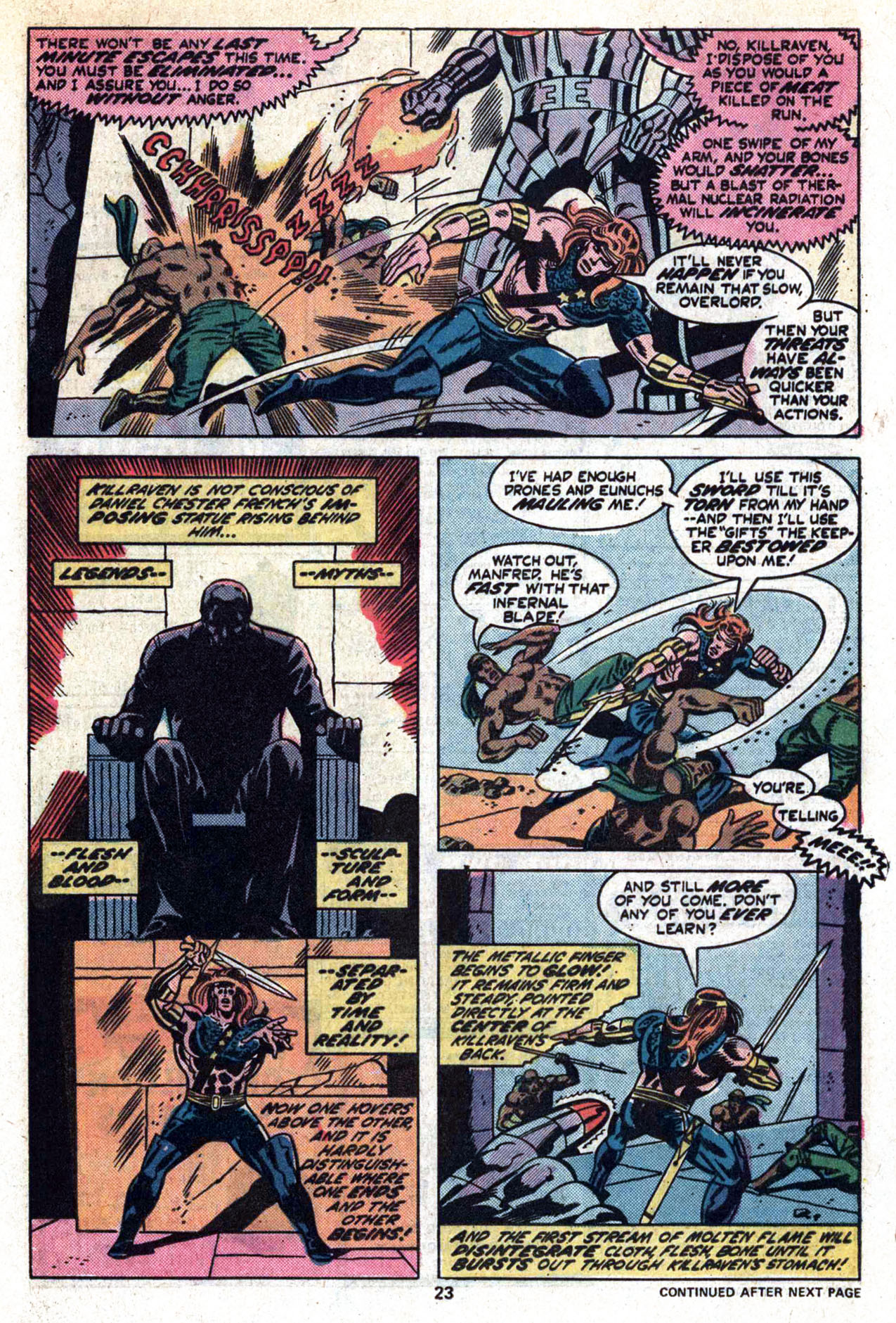 Read online Amazing Adventures (1970) comic -  Issue #30 - 25