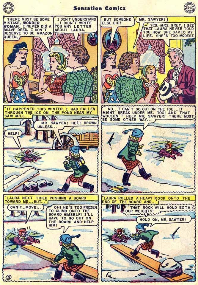 Read online Sensation (Mystery) Comics comic -  Issue #89 - 5