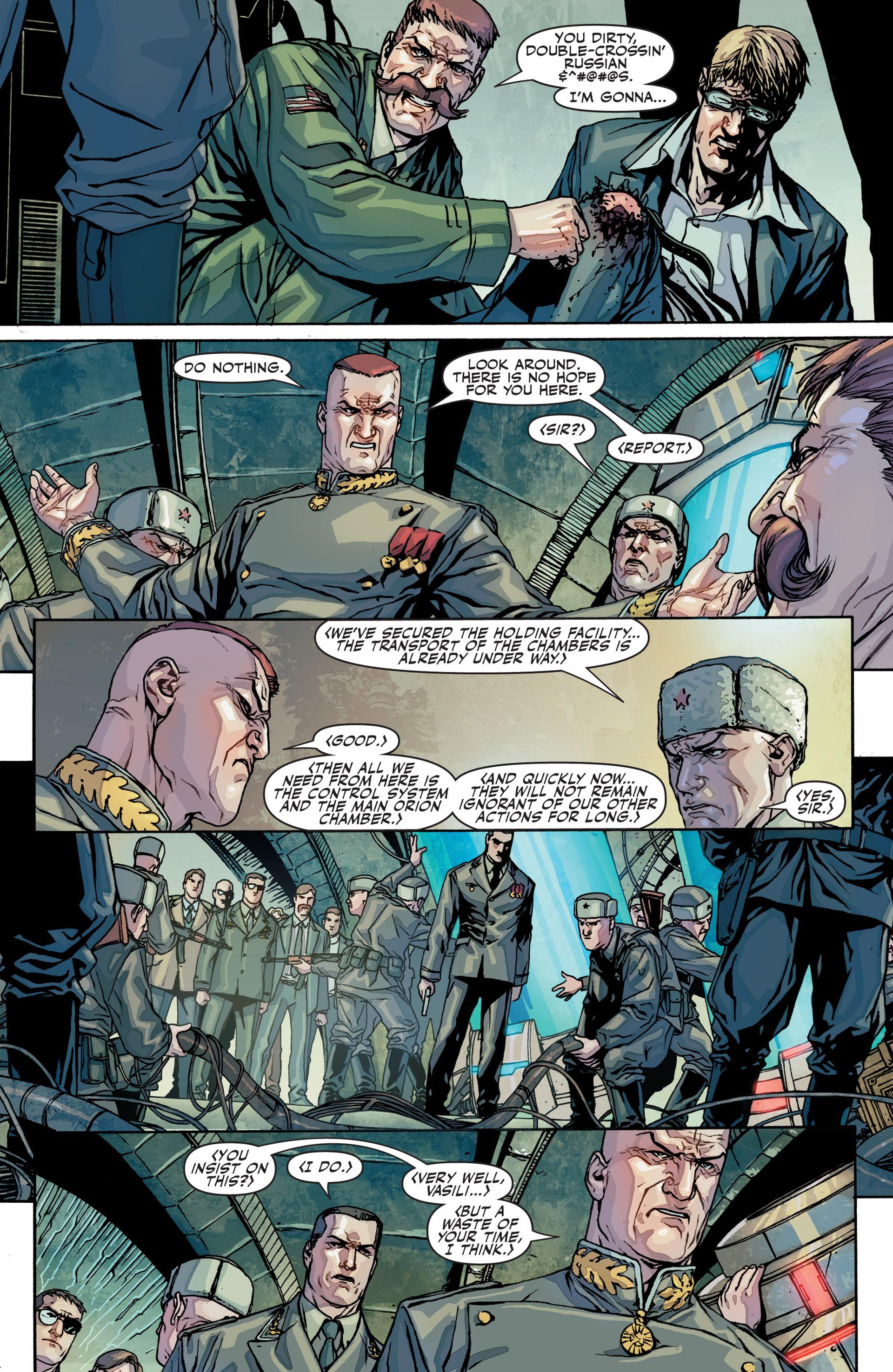 Read online Secret Warriors comic -  Issue #25 - 23