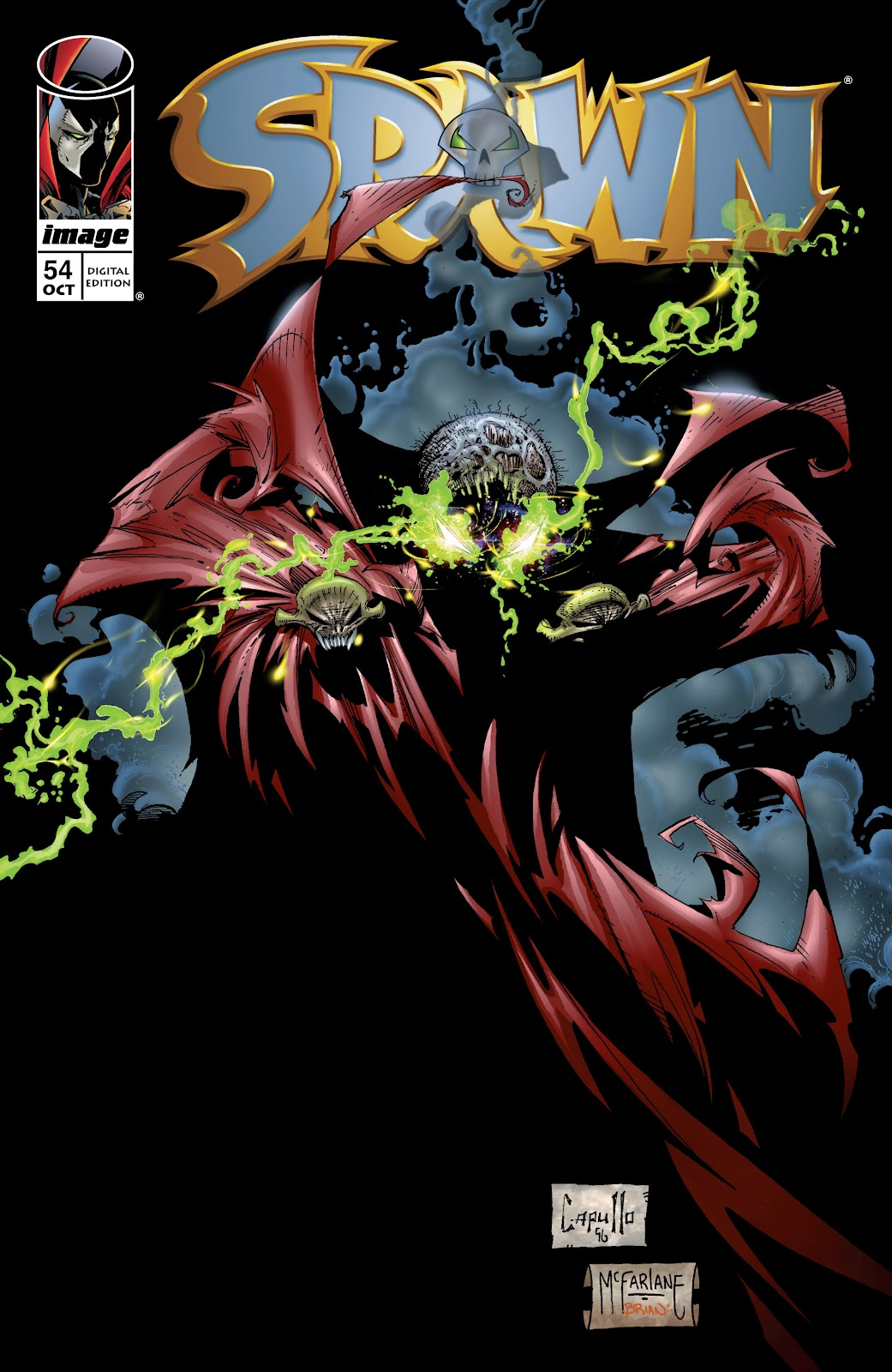 Spawn 54 Page 1