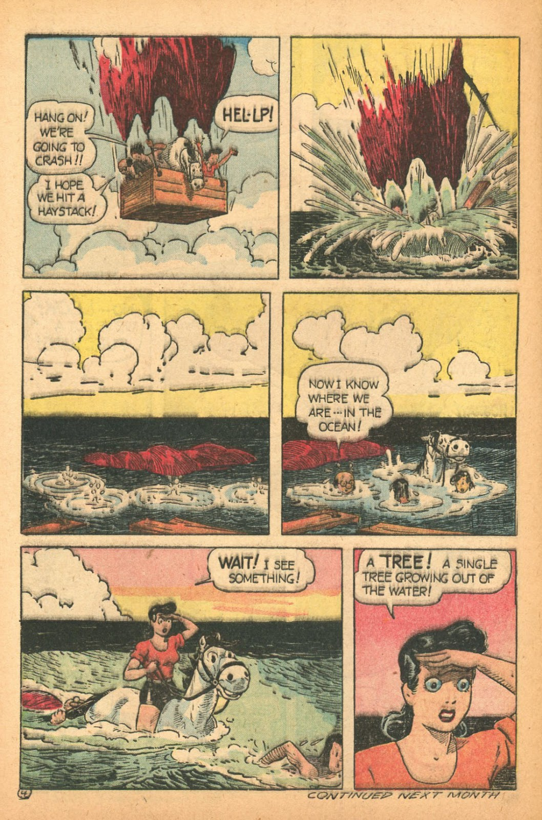 Read online Famous Funnies comic -  Issue #132 - 32