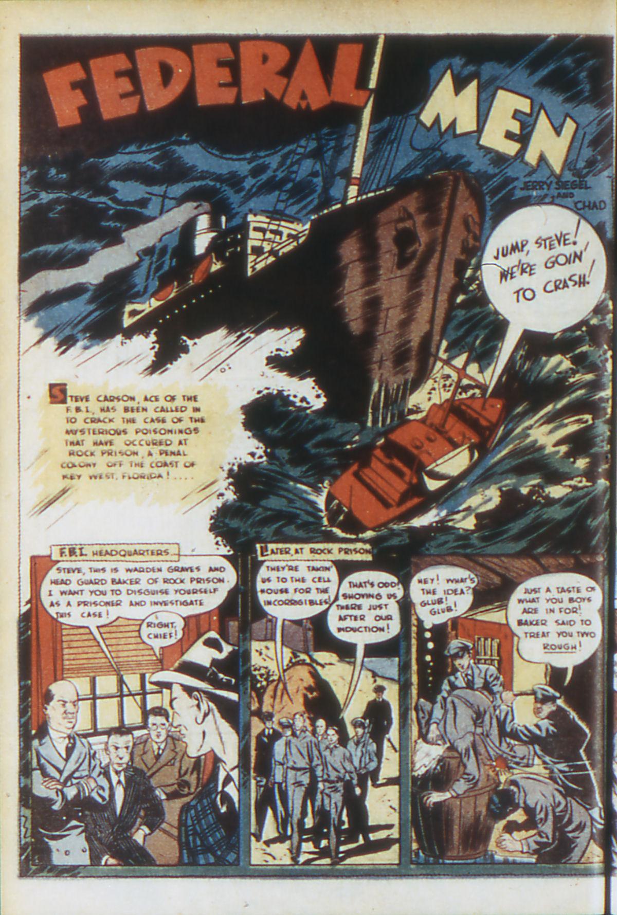 Read online Adventure Comics (1938) comic -  Issue #64 - 19
