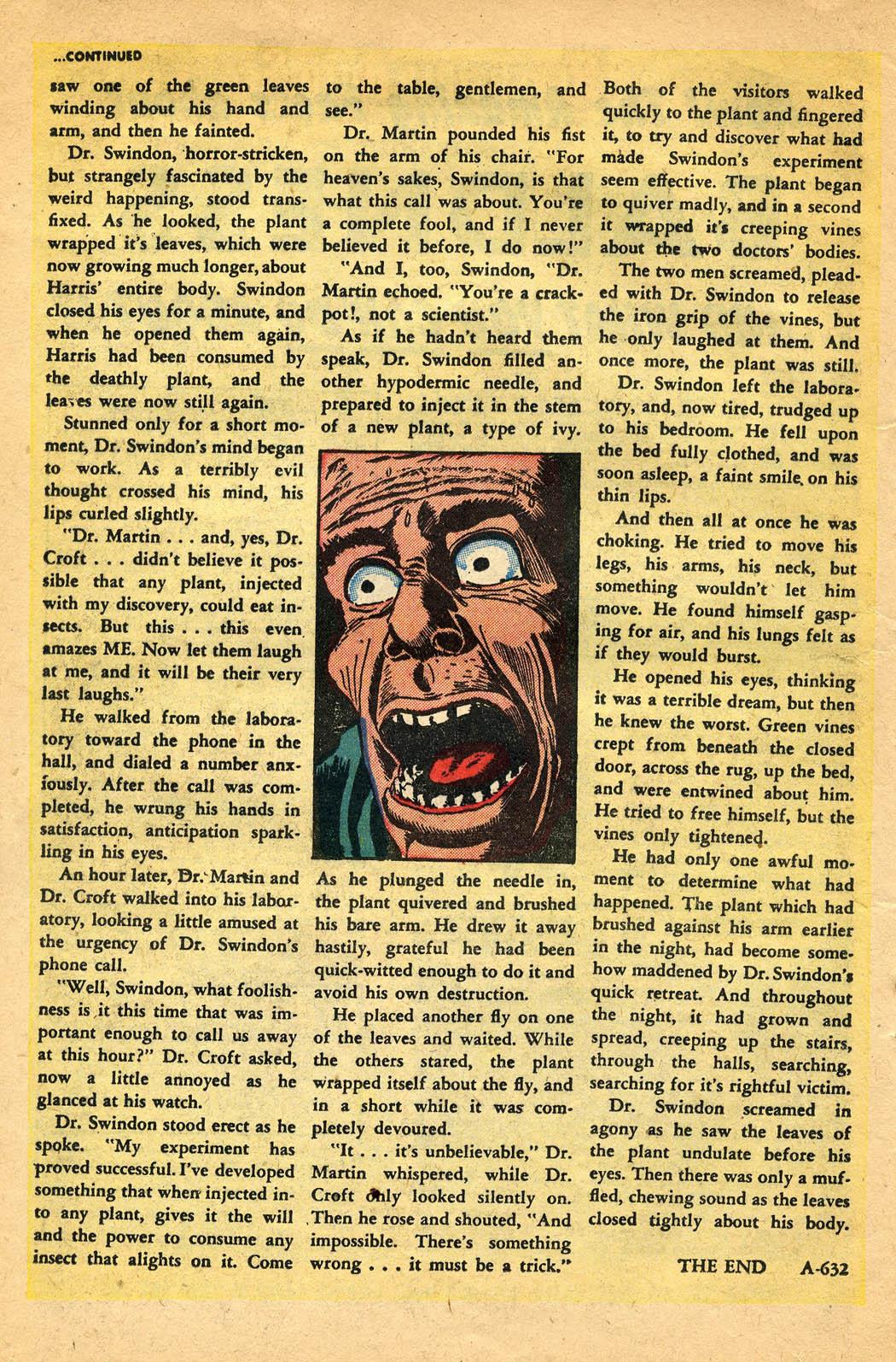 Read online Adventures into Weird Worlds comic -  Issue #29 - 16