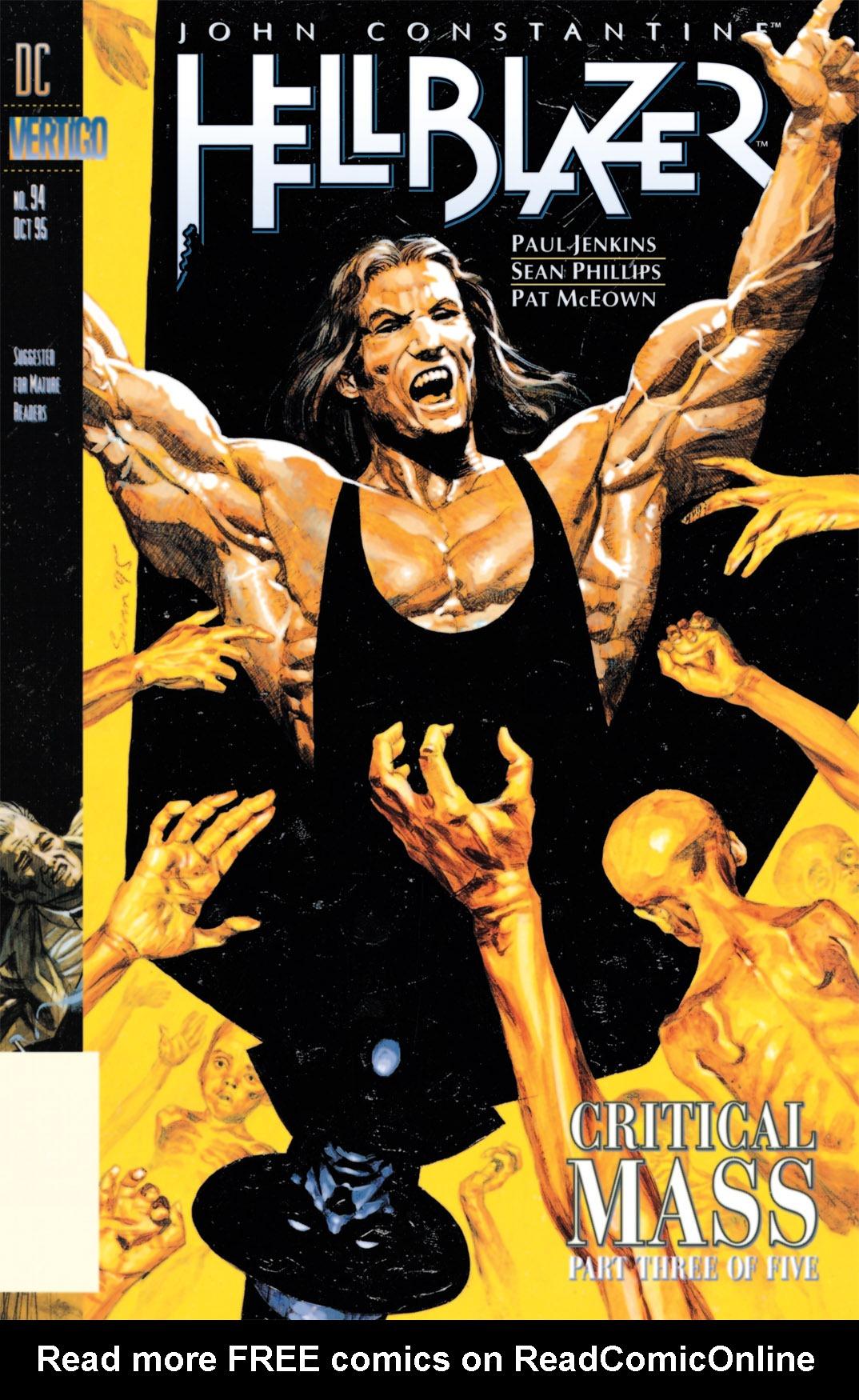 Hellblazer issue 94 - Page 1
