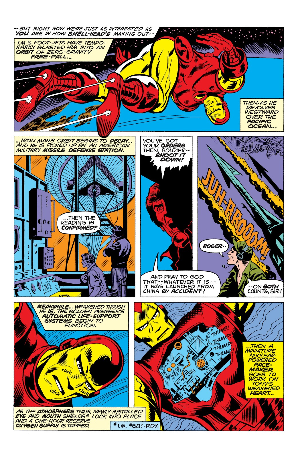 Read online Marvel Masterworks: The Invincible Iron Man comic -  Issue # TPB 10 (Part 1) - 47