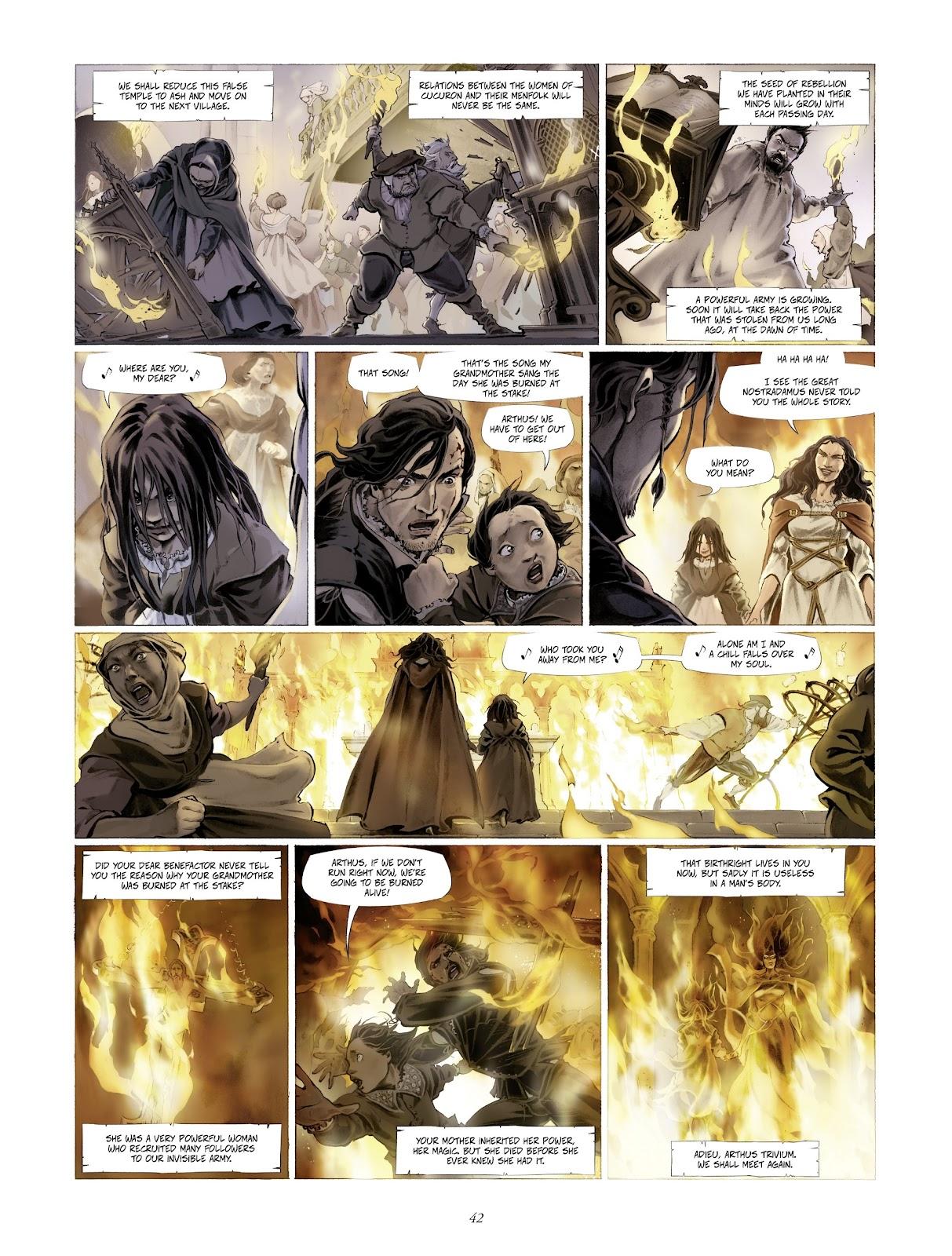 Read online Arthus Trivium comic -  Issue #4 - 44