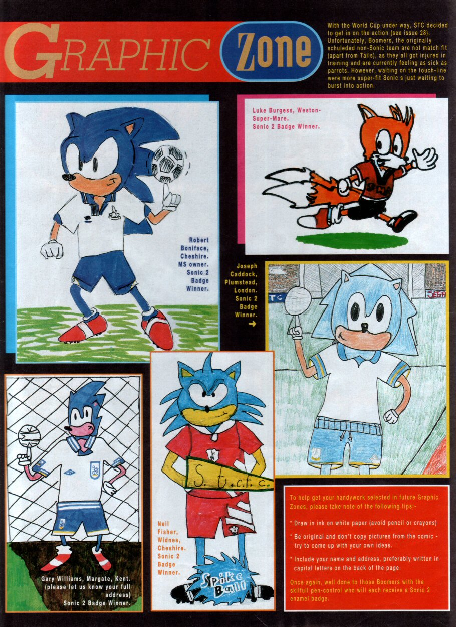 Read online Sonic the Comic comic -  Issue #29 - 23
