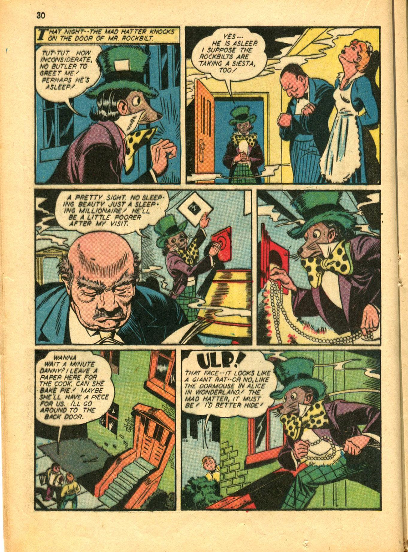 Read online Shadow Comics comic -  Issue #30 - 30
