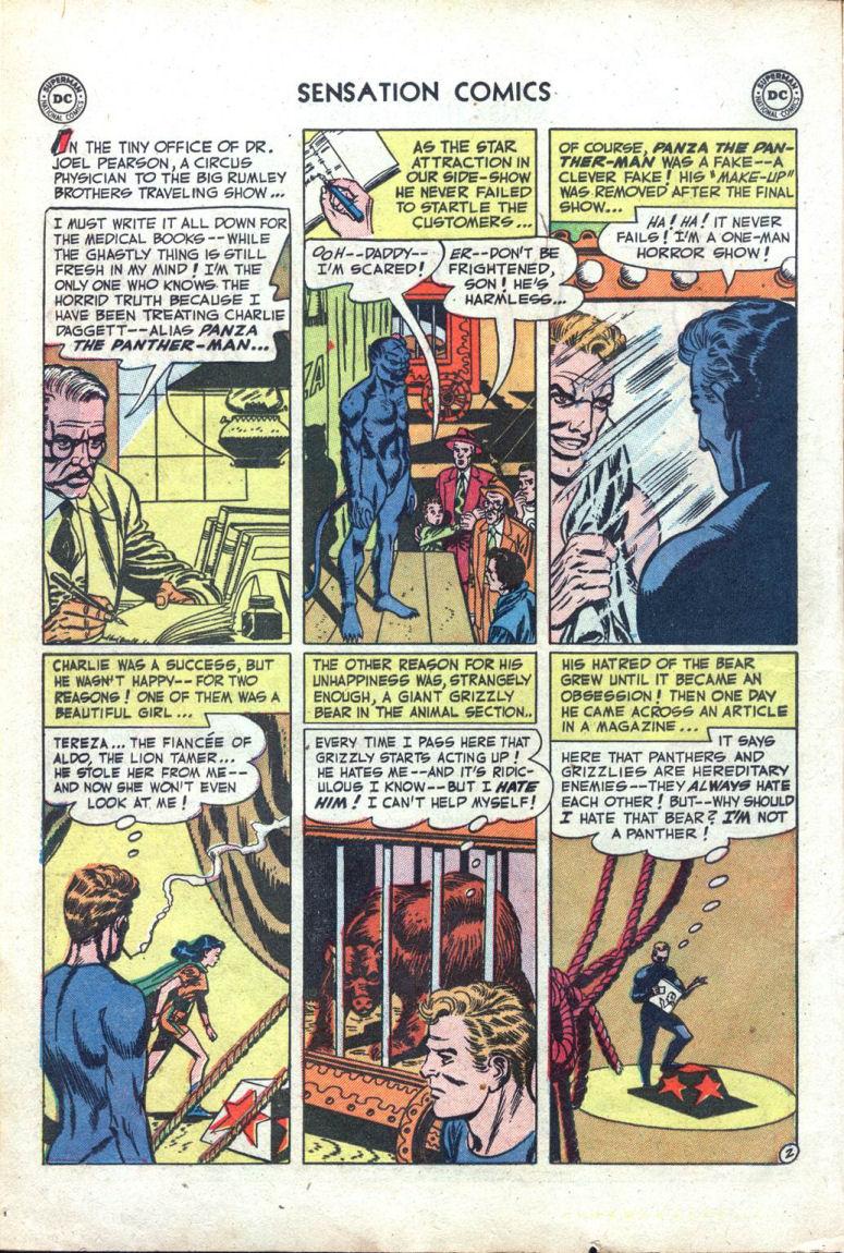 Read online Sensation (Mystery) Comics comic -  Issue #109 - 14