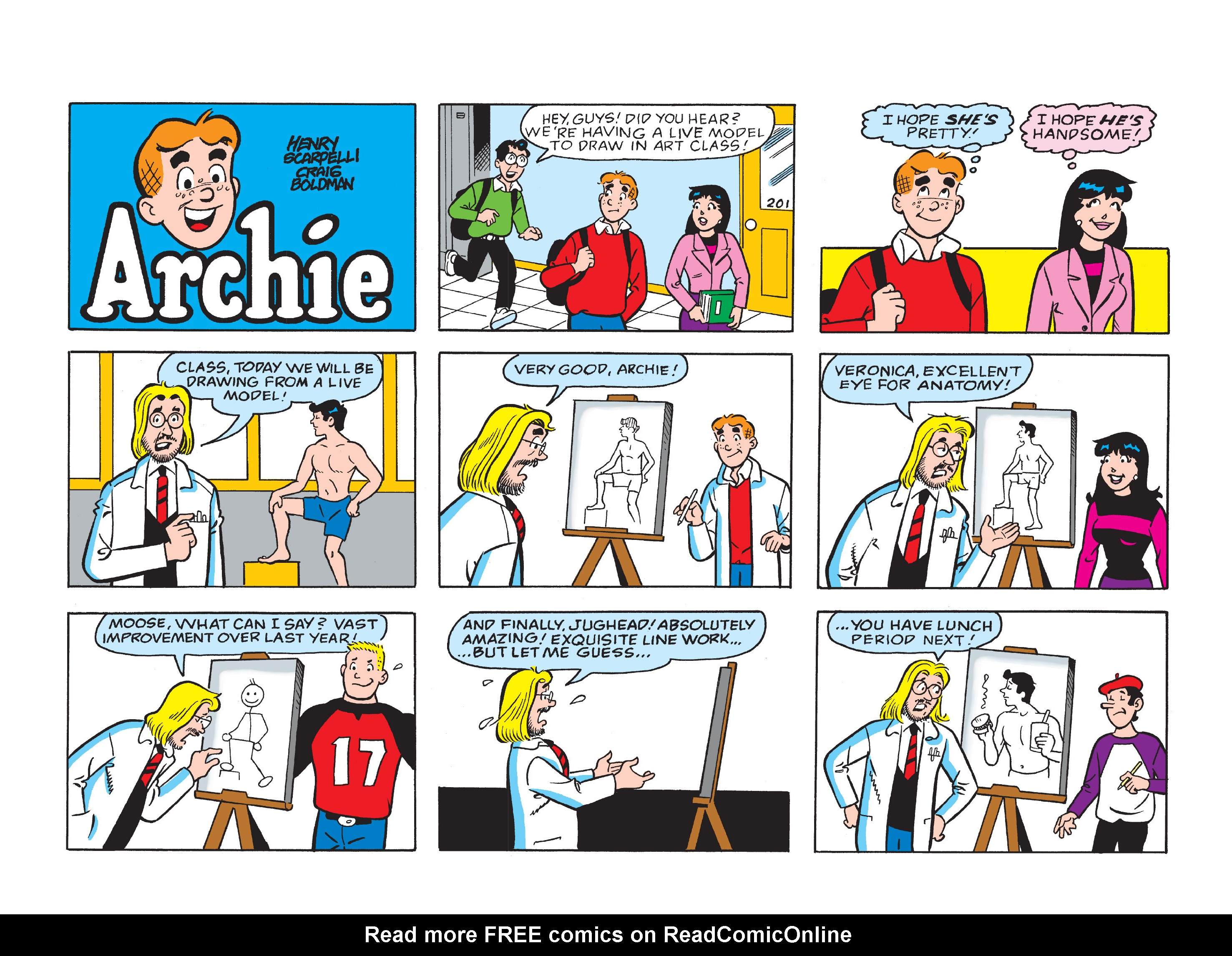 Read online Archie's Funhouse Double Digest comic -  Issue #1 - 59