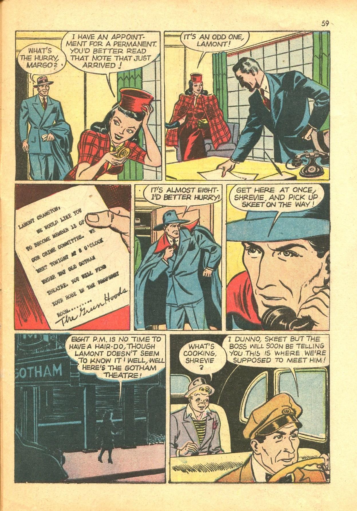 Read online Shadow Comics comic -  Issue #24 - 51