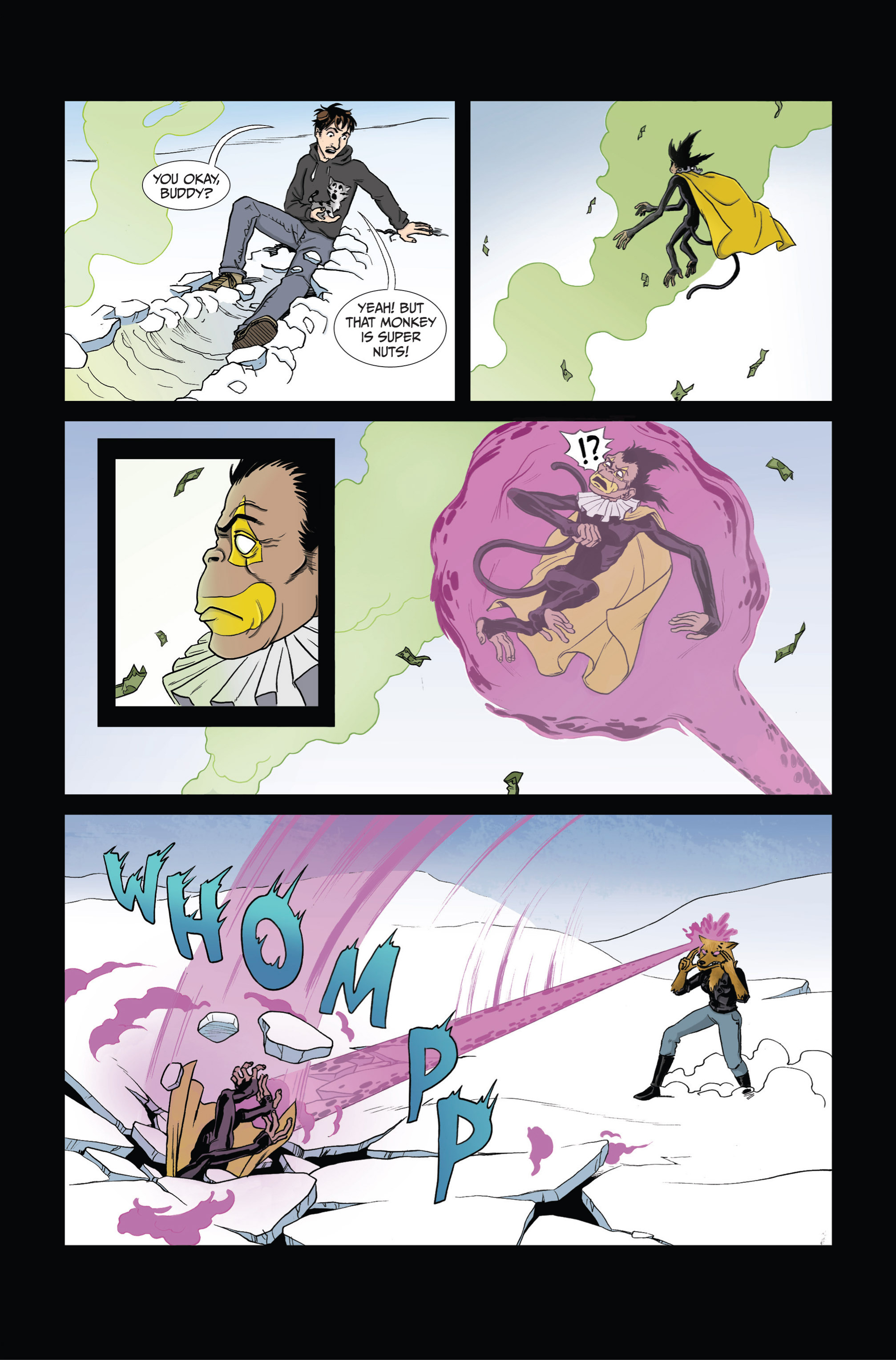 Read online Ehmm Theory: Everything & Small Doses comic -  Issue #4 - 10