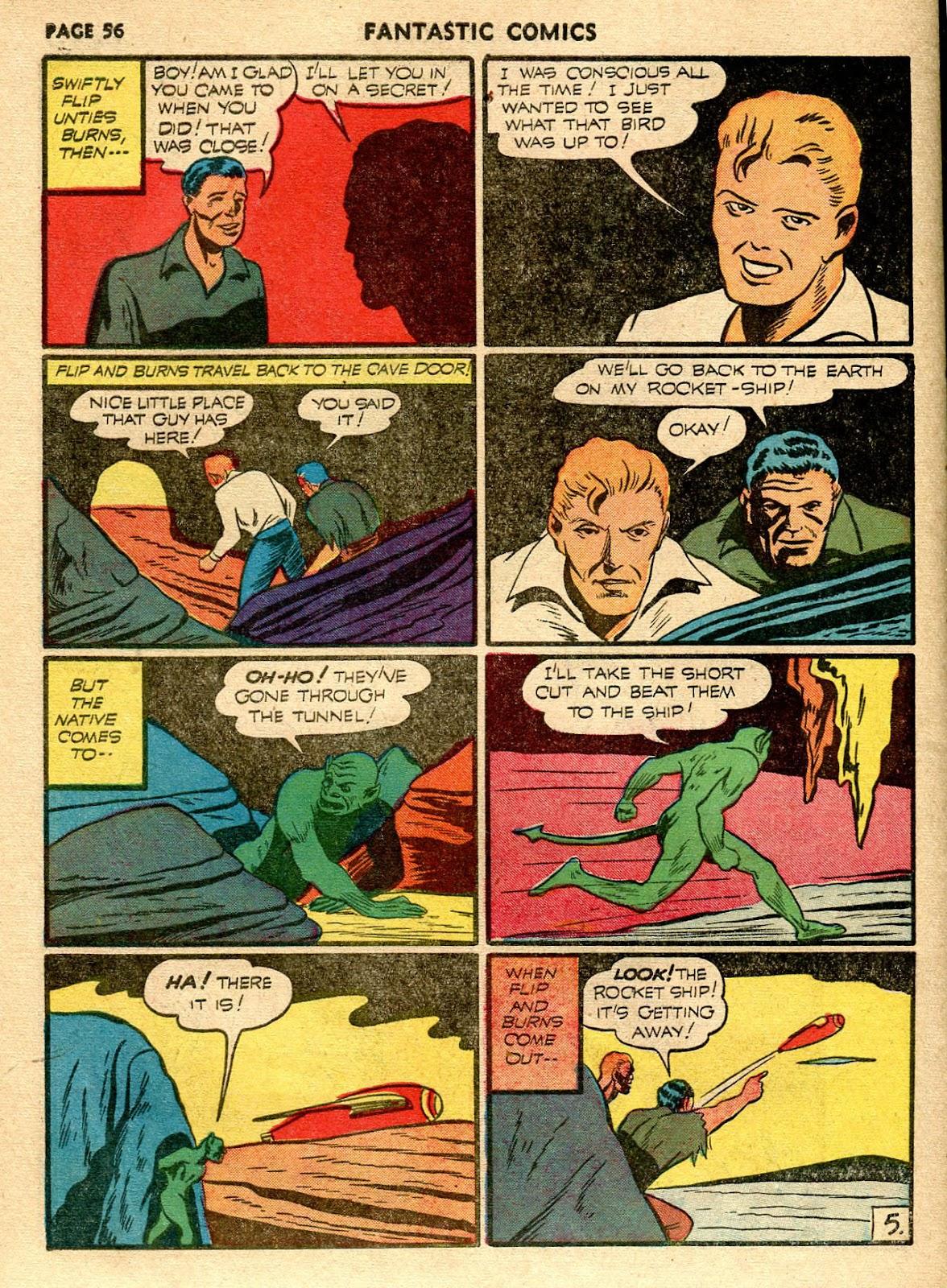 Read online Fantastic Comics comic -  Issue #21 - 54