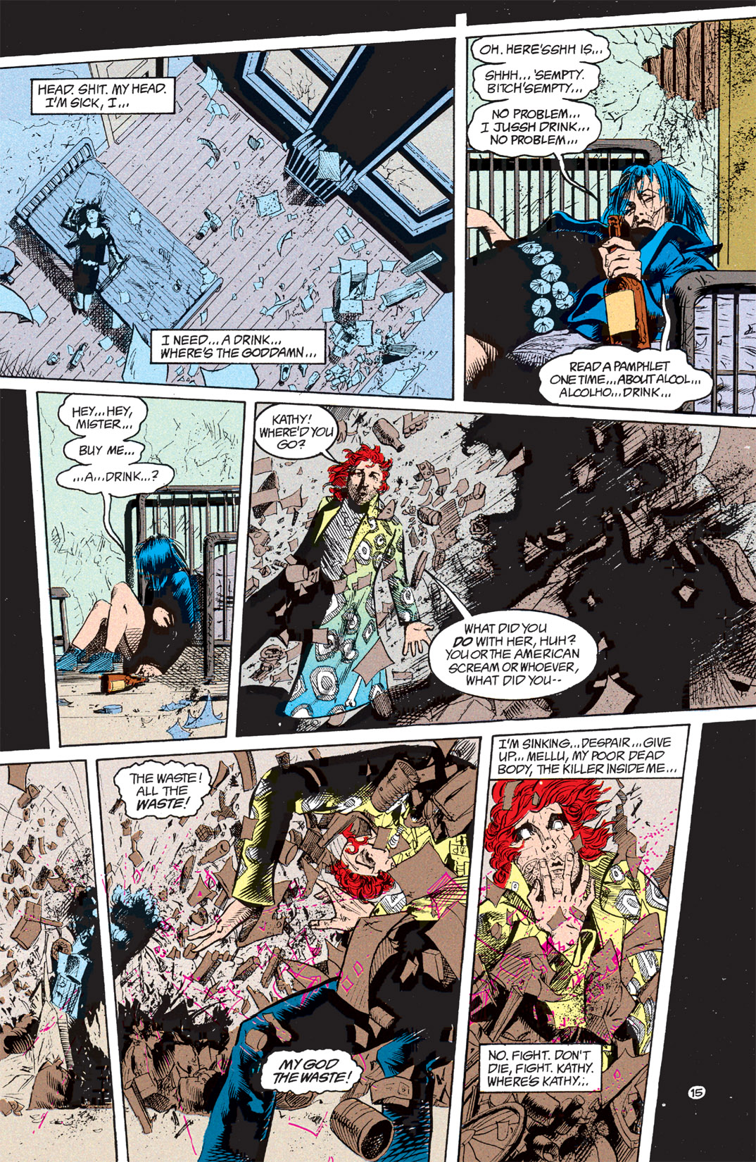 Read online Shade, the Changing Man comic -  Issue #7 - 16
