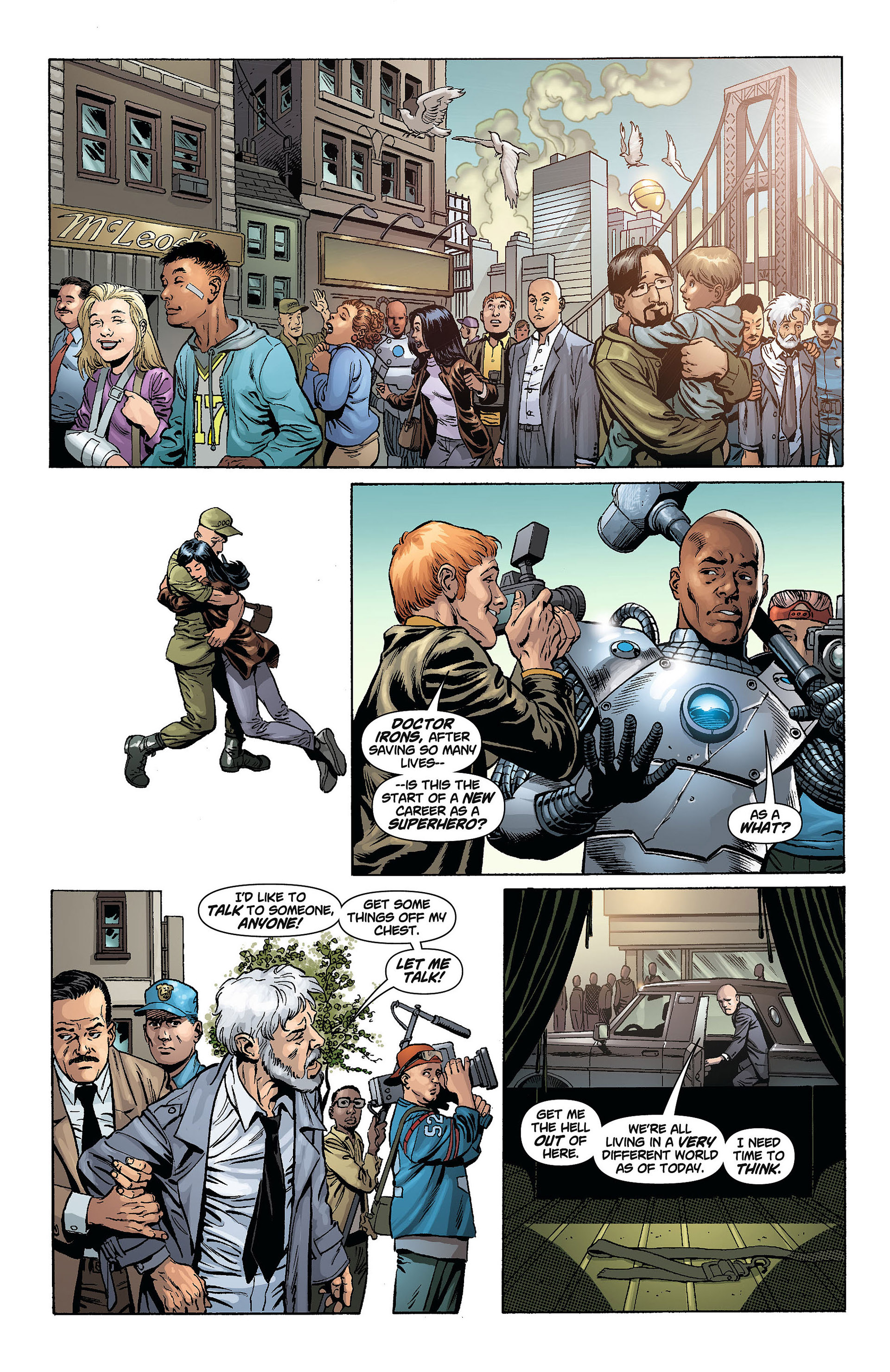 Read online Action Comics (2011) comic -  Issue #8 - 20