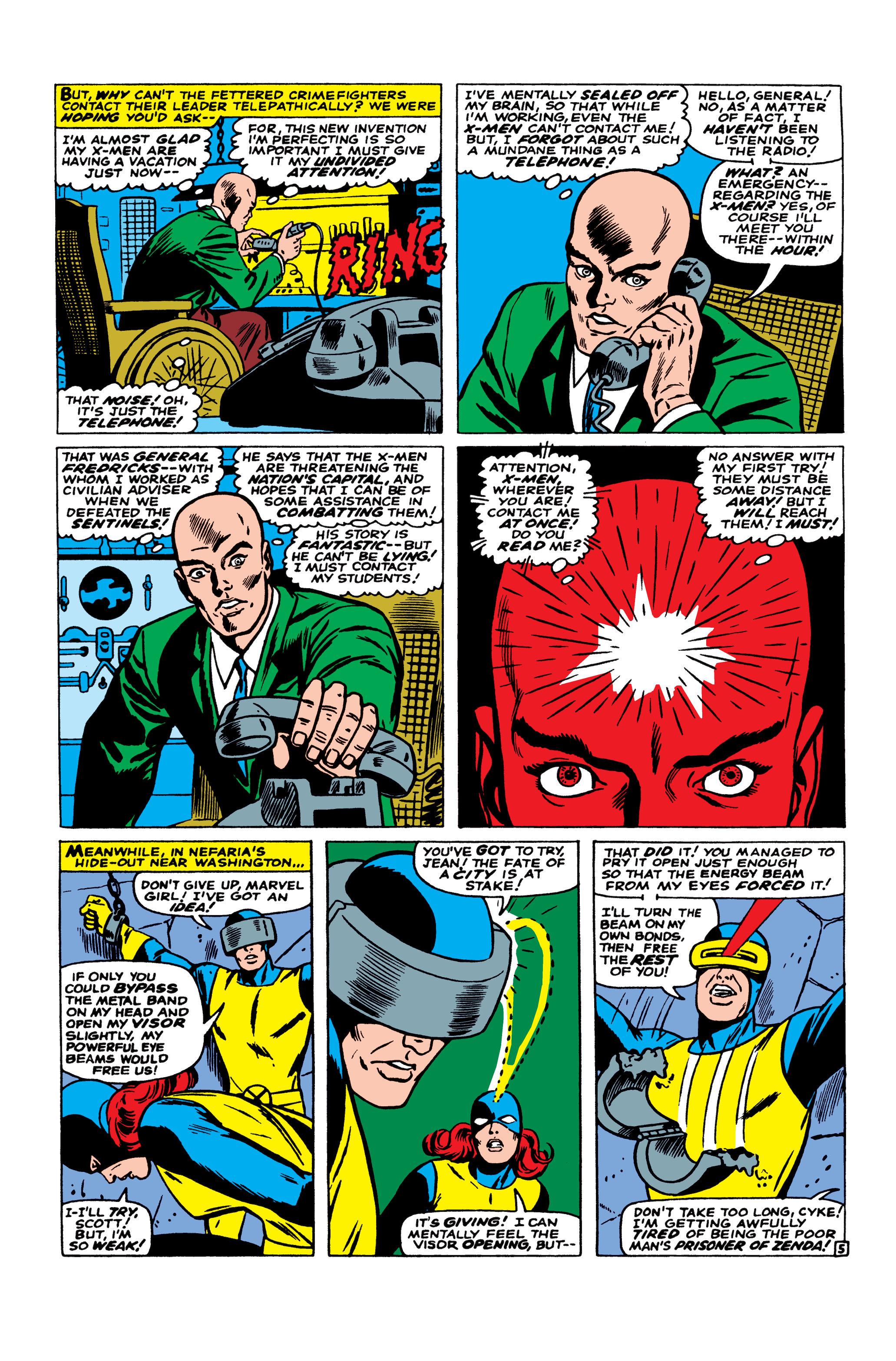 Read online Uncanny X-Men (1963) comic -  Issue #23 - 6