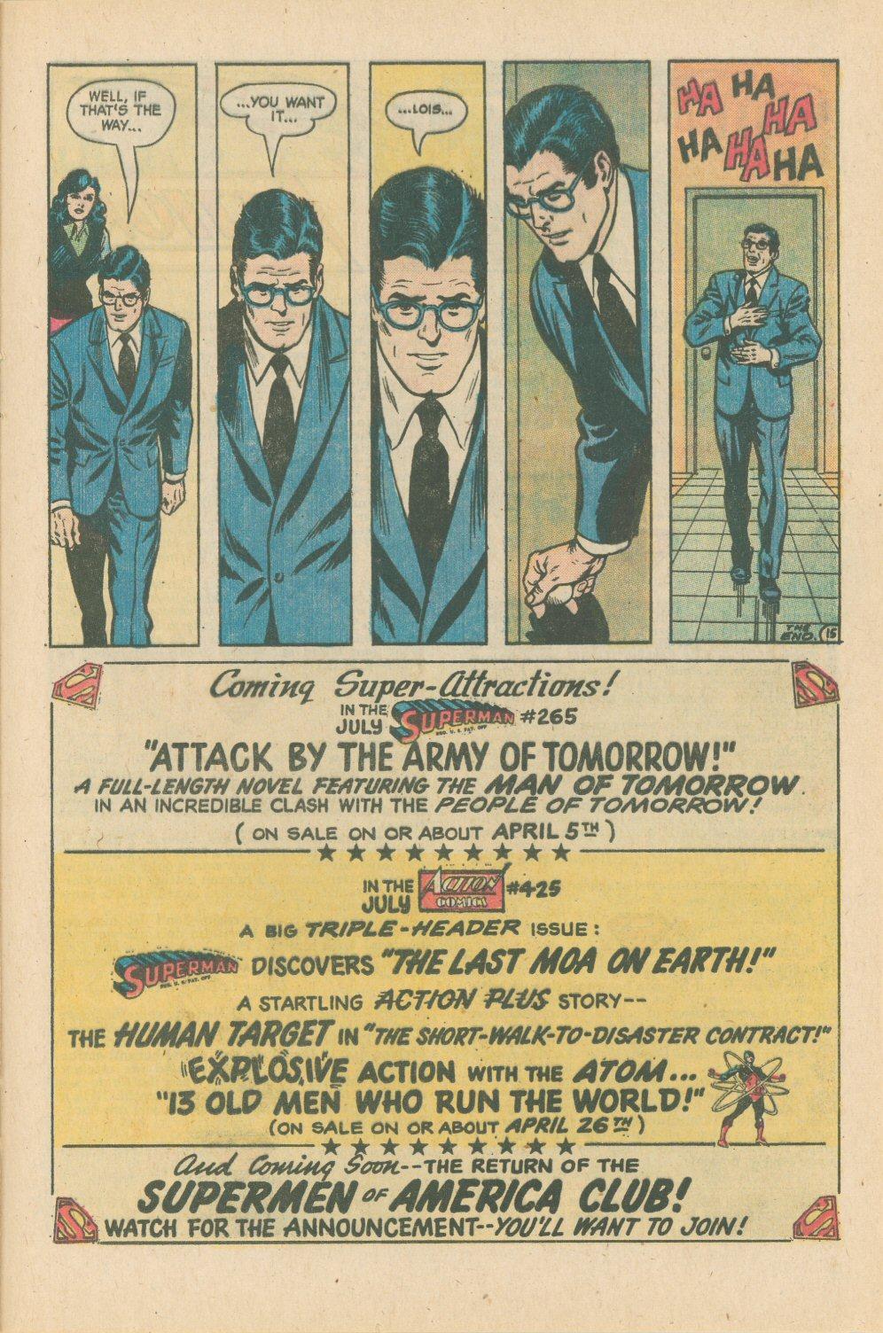 Action Comics (1938) 424 Page 19