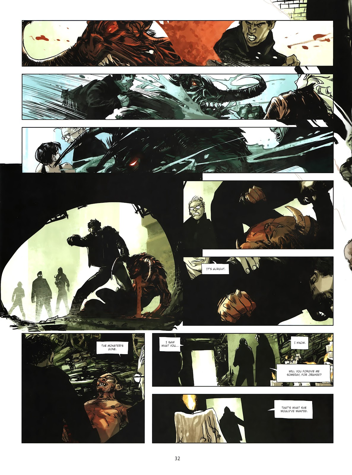 Read online Cutting Edge (2013) comic -  Issue #4 - 25