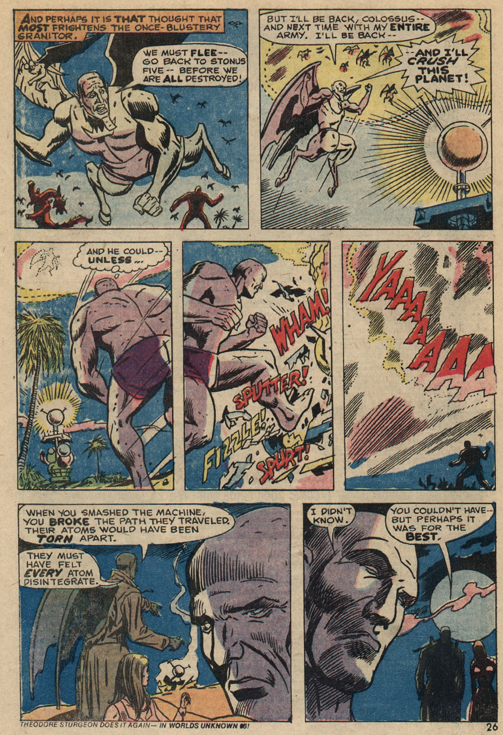 Read online Astonishing Tales (1970) comic -  Issue #23 - 17