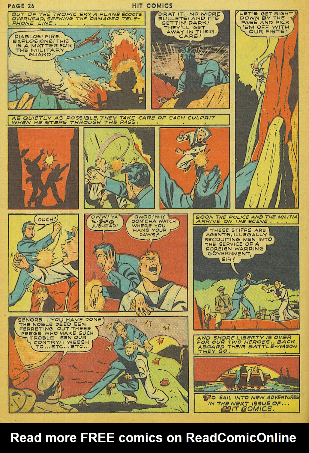 Read online Hit Comics comic -  Issue #13 - 28