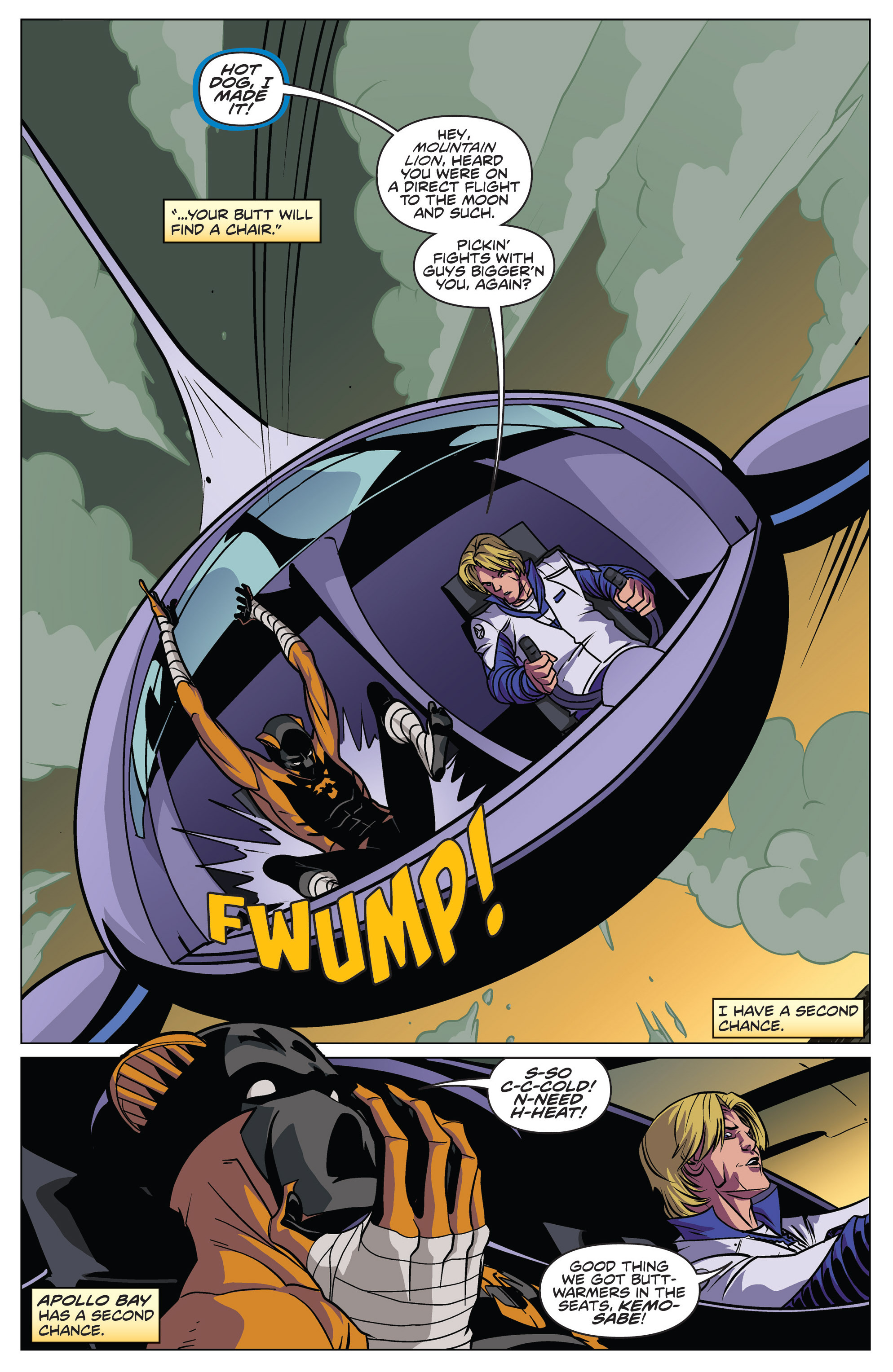 Read online Actionverse comic -  Issue #4 - 14