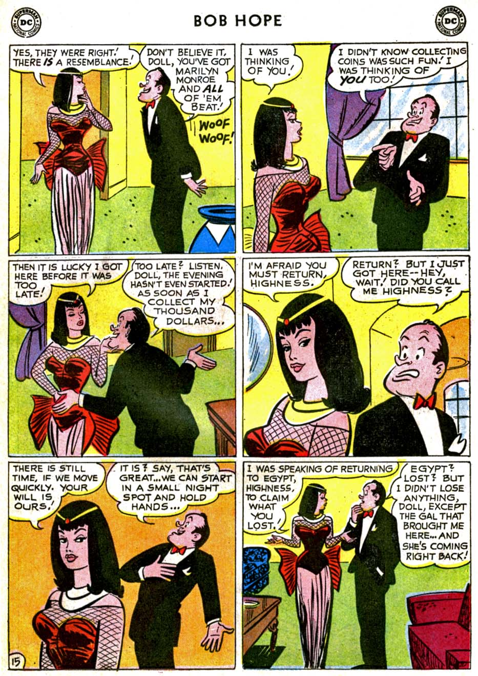 The Adventures of Bob Hope issue 71 - Page 19