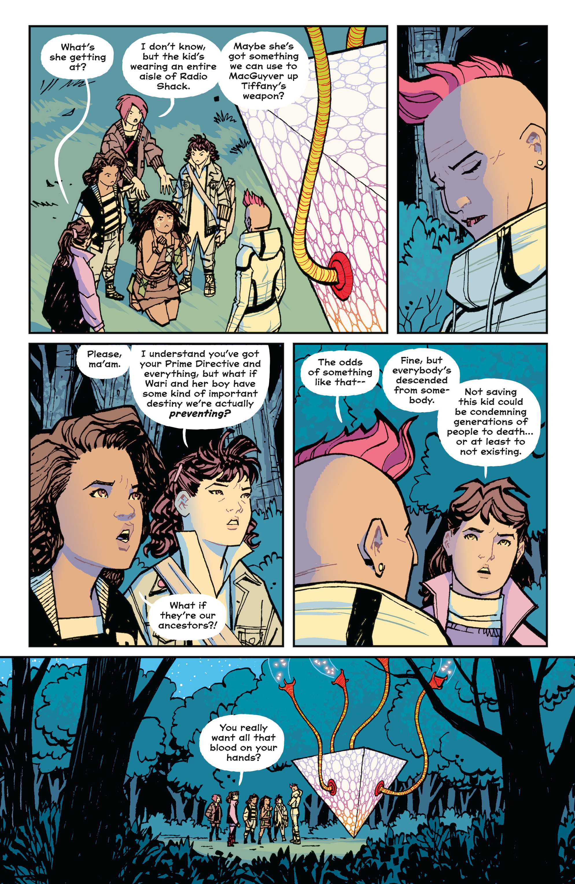 Read online Paper Girls comic -  Issue #15 - 10
