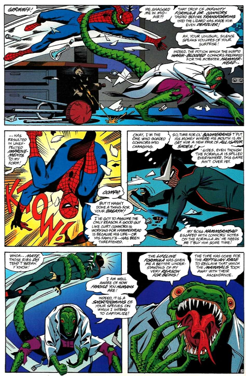 Read online Spider-Man: Lifeline comic -  Issue #3 - 3