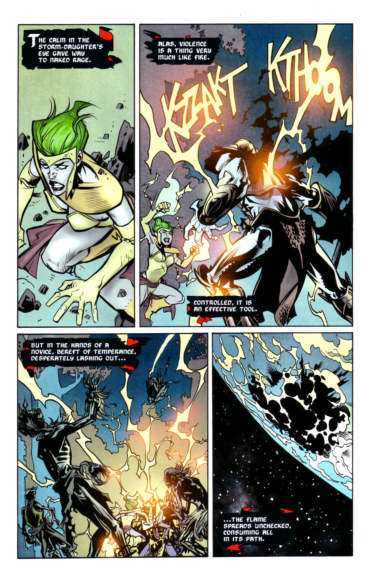 Read online Adventure Comics (2009) comic -  Issue #2 - 34