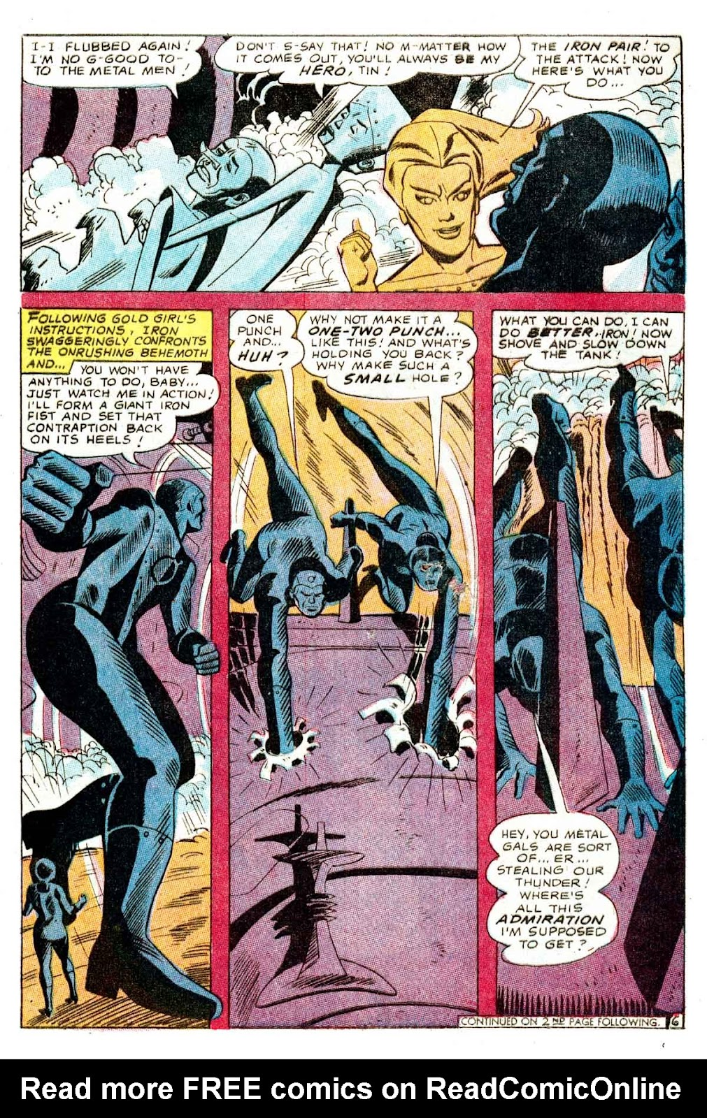 Metal Men (1963) issue 32 - Page 8