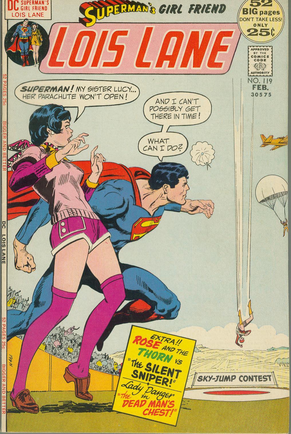 Supermans Girl Friend, Lois Lane 119 Page 1