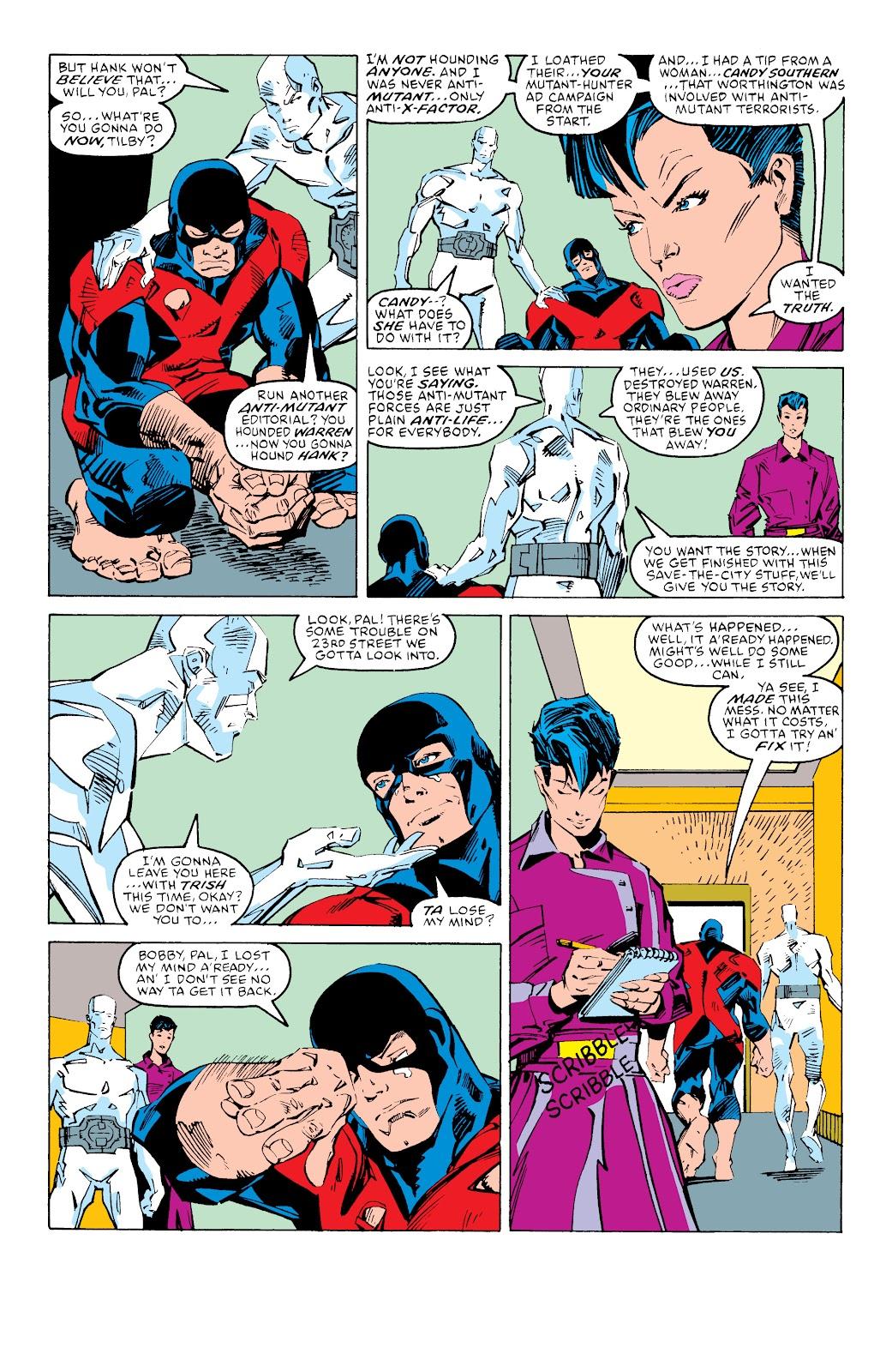 Read online X-Men Milestones: Fall of the Mutants comic -  Issue # TPB (Part 3) - 60