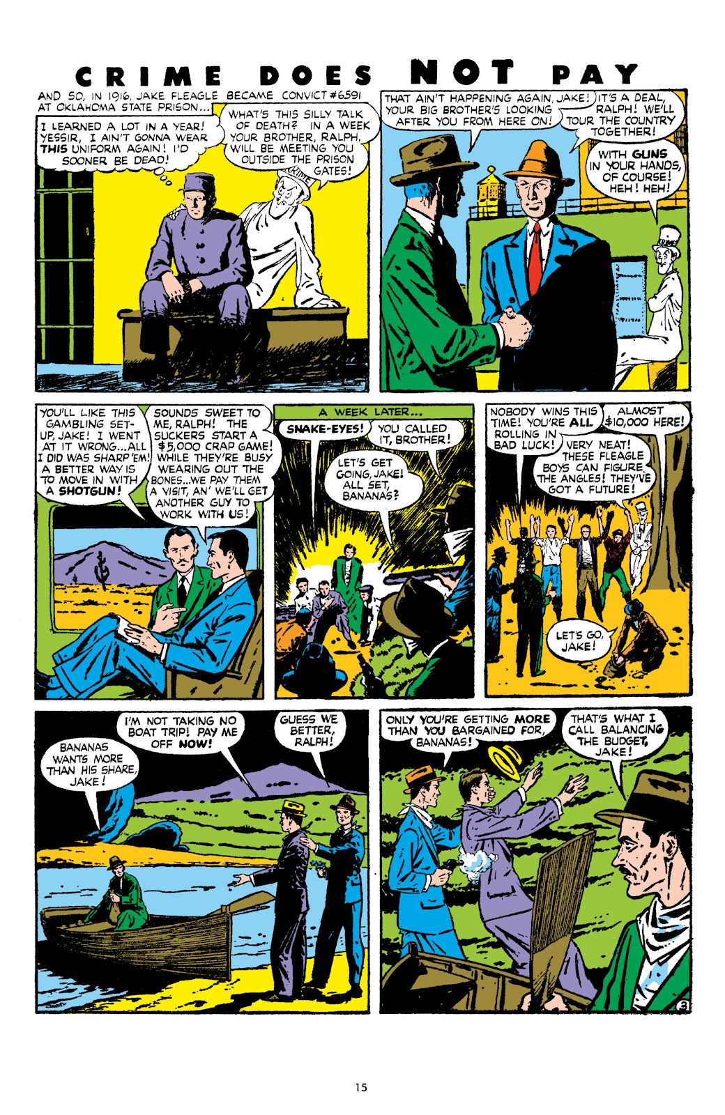 Read online Crime Does Not Pay Archives comic -  Issue # TPB 8 (Part 1) - 17