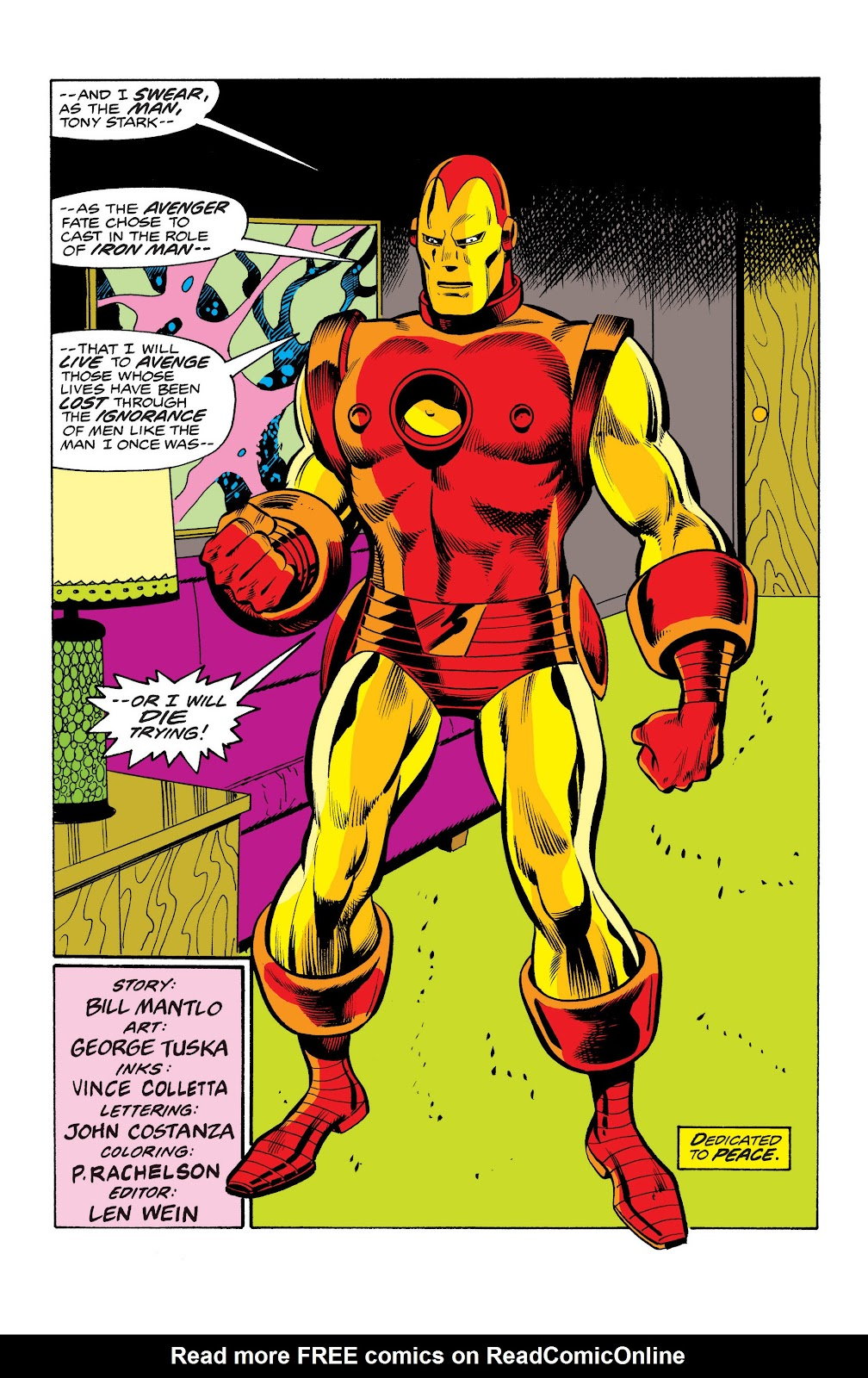 Read online Marvel Masterworks: The Invincible Iron Man comic -  Issue # TPB 10 (Part 2) - 93