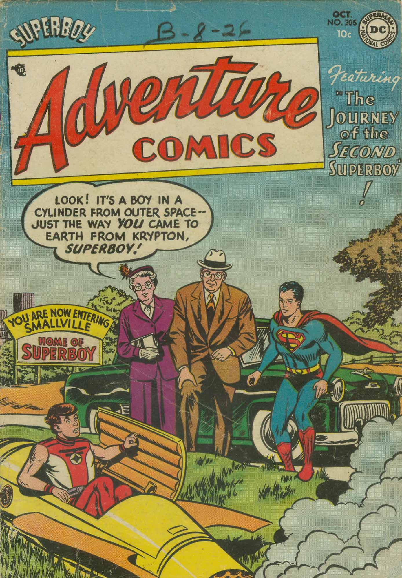 Read online Adventure Comics (1938) comic -  Issue #205 - 2
