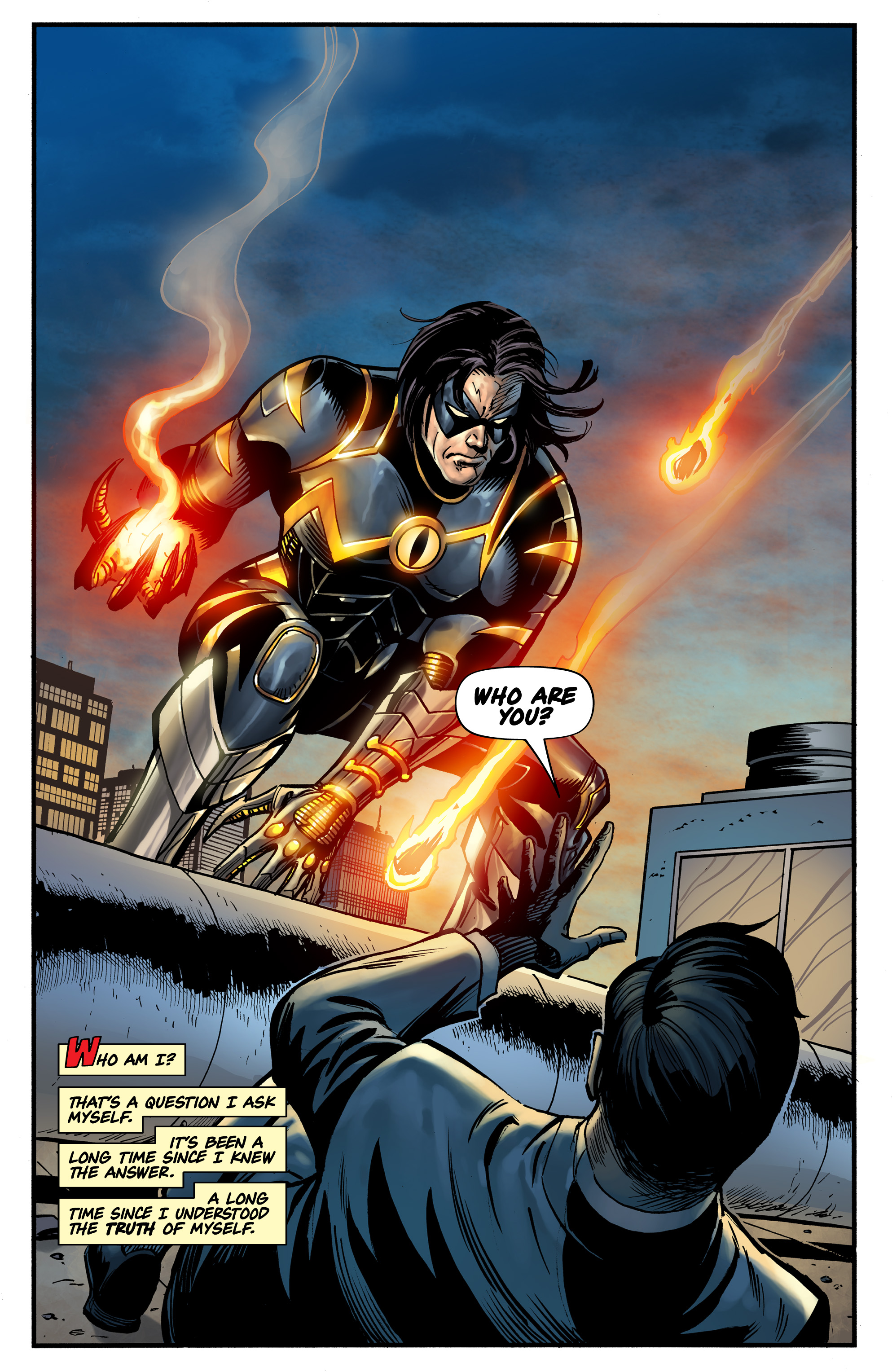 Read online Shadow Tiger comic -  Issue #1 - 5