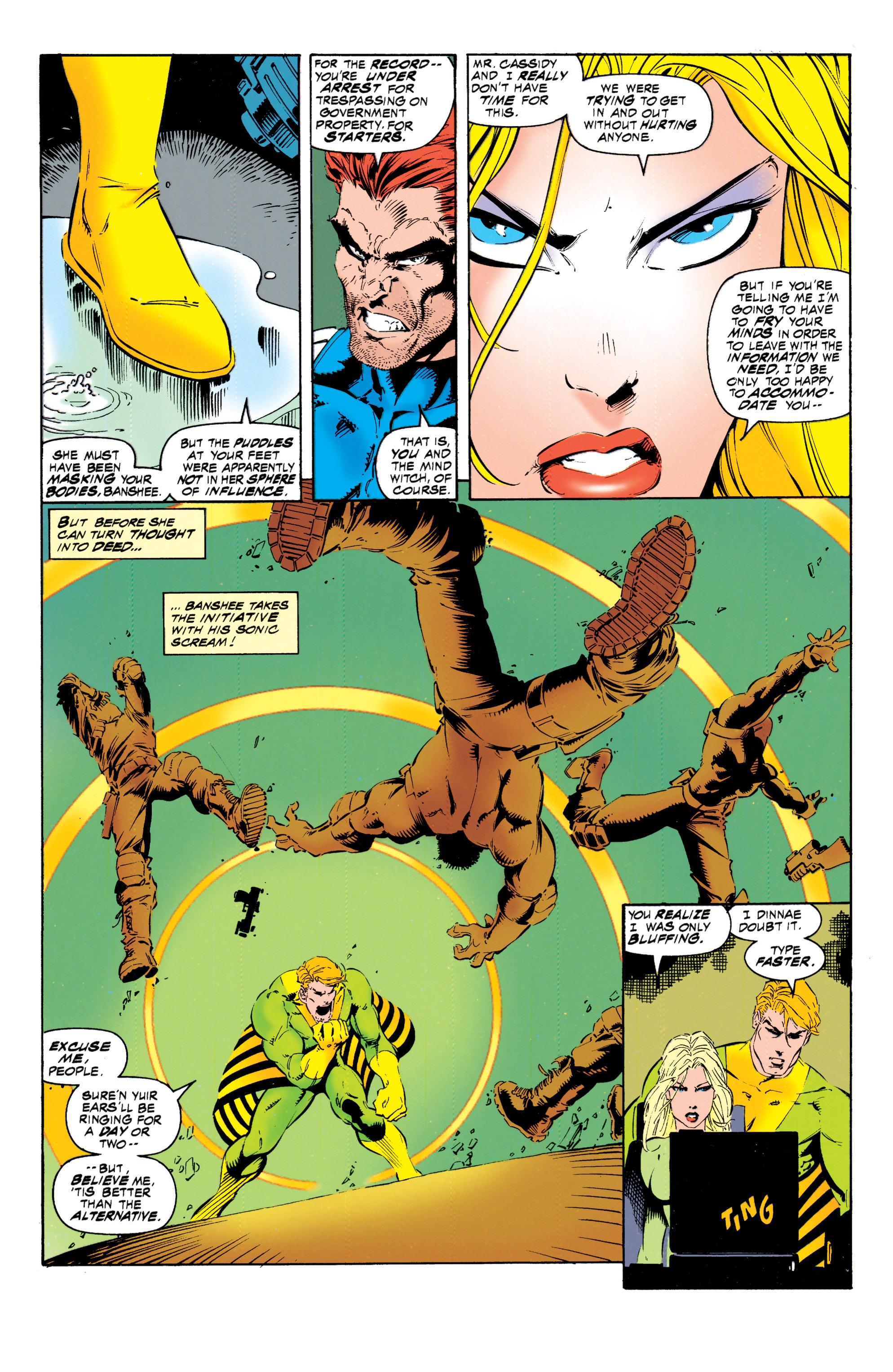 Read online Uncanny X-Men (1963) comic -  Issue #317 - 20