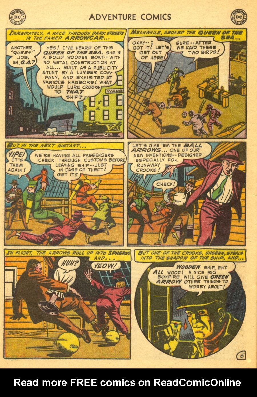 Read online Adventure Comics (1938) comic -  Issue #203 - 38