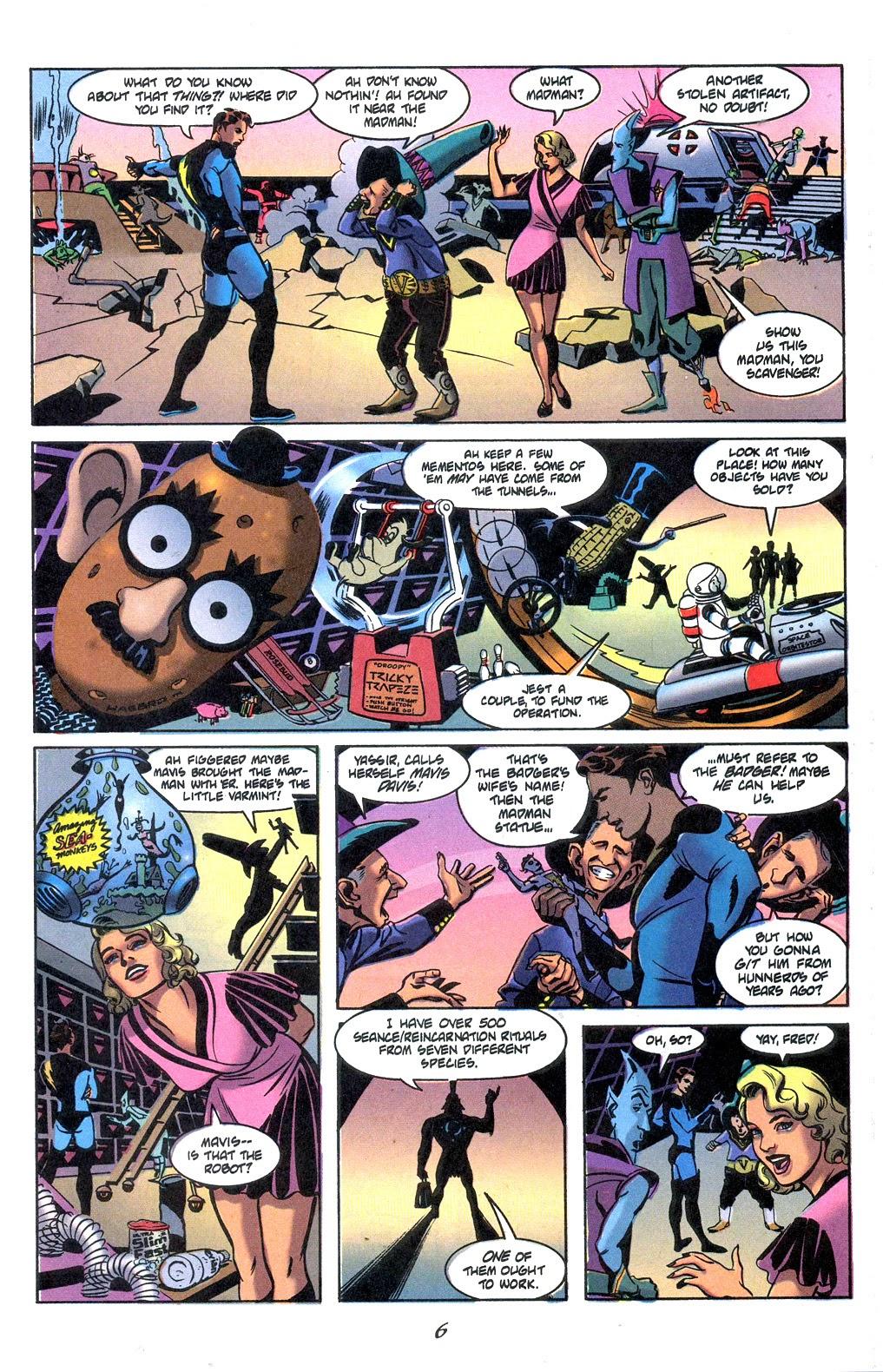 Read online Nexus Meets Madman comic -  Issue # Full - 8